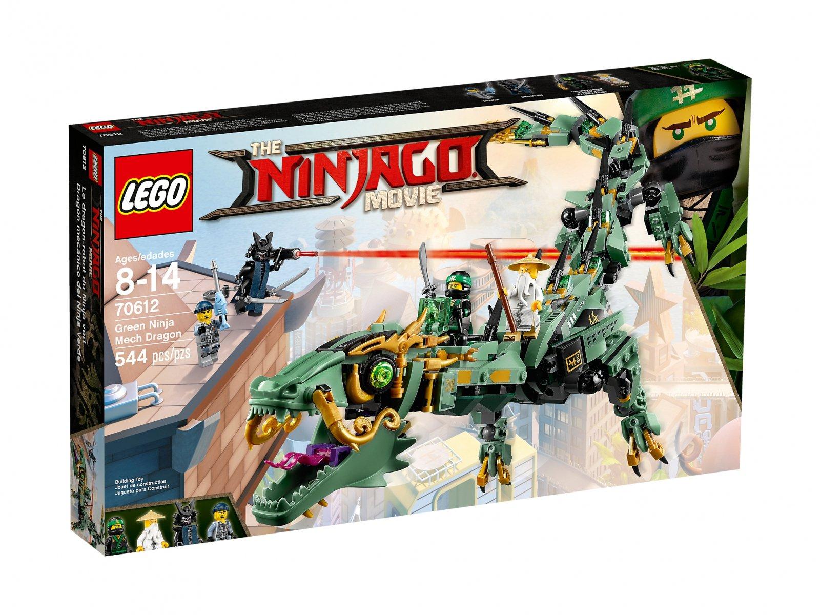 LEGO Ninjago® Movie™ Mechaniczny smok zielonego ninja 70612