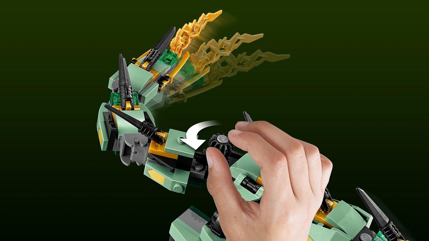 LEGO Ninjago® Movie™ Mechaniczny smok zielonego ninja