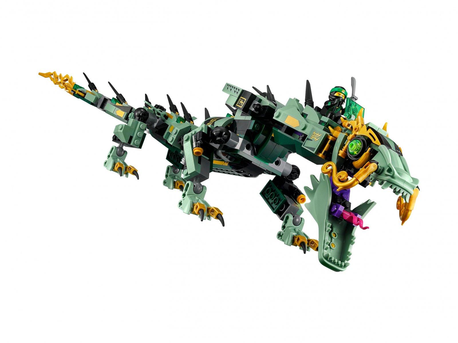 LEGO 70612 Ninjago® Movie™ Mechaniczny smok zielonego ninja