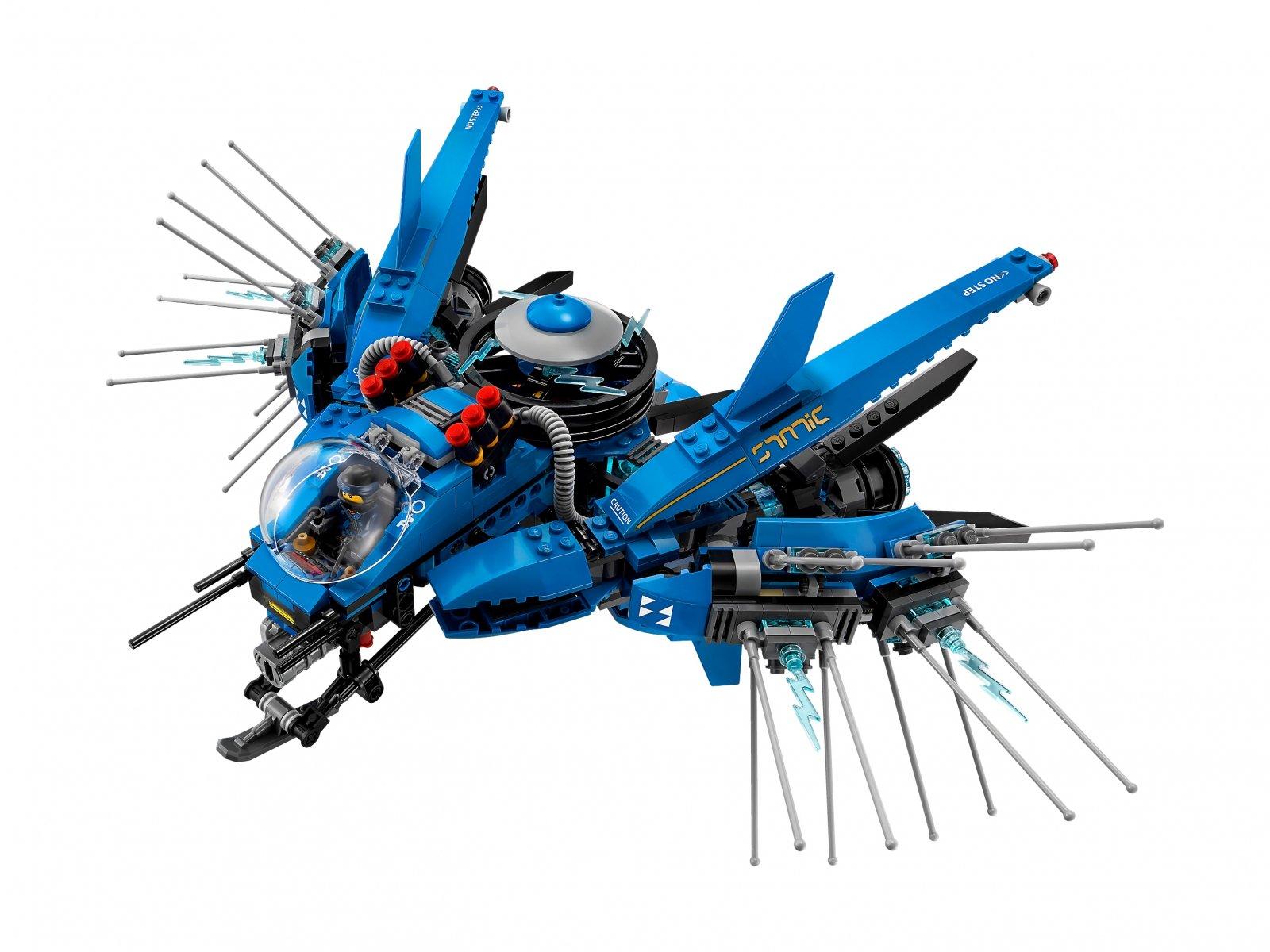 LEGO Ninjago® Movie™ Odrzutowiec Błyskawica 70614