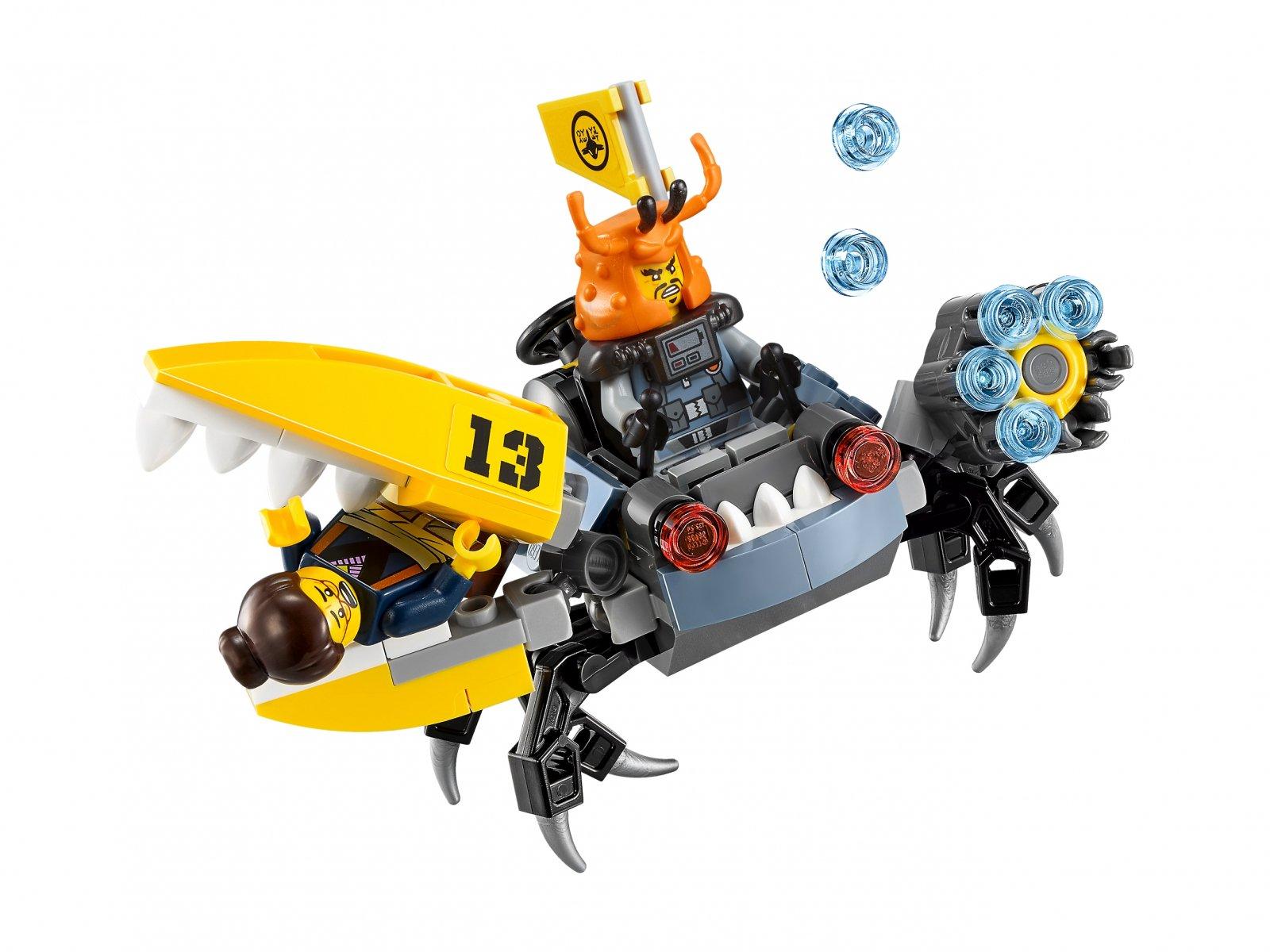 LEGO Ninjago® Movie™ Odrzutowiec Błyskawica