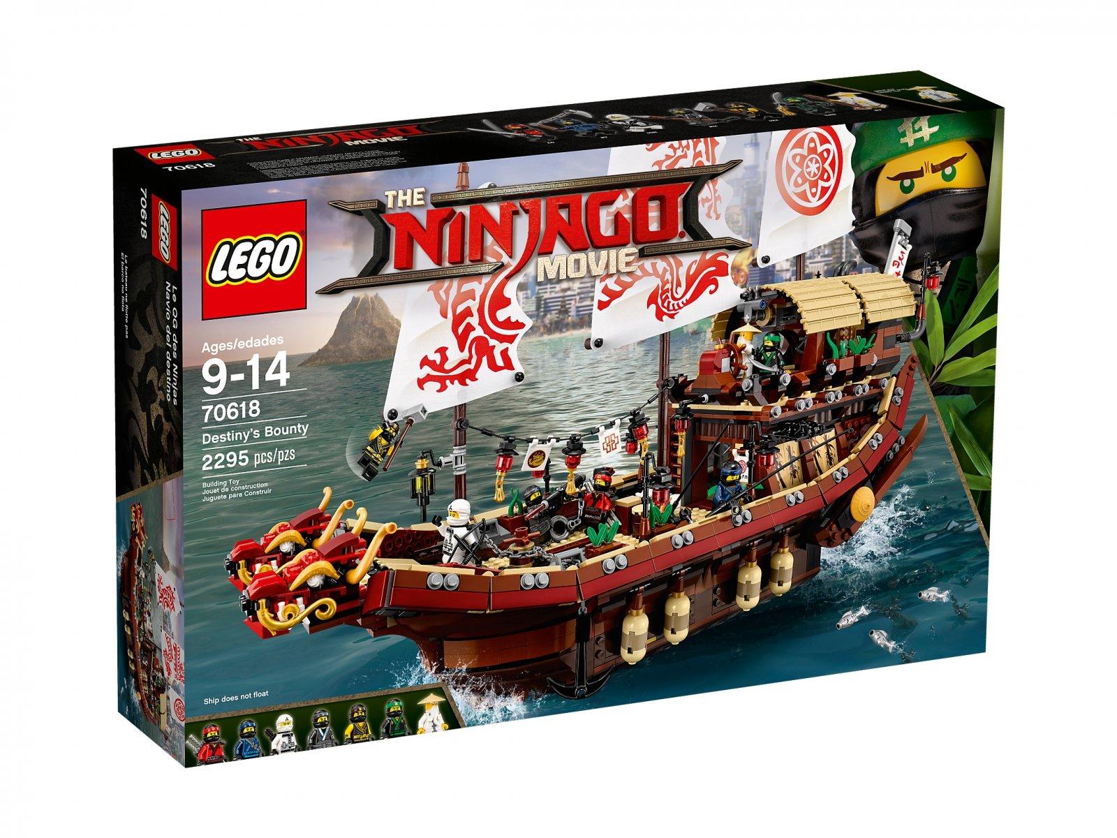 LEGO Ninjago® Movie™ 70618 Perła Przeznaczenia