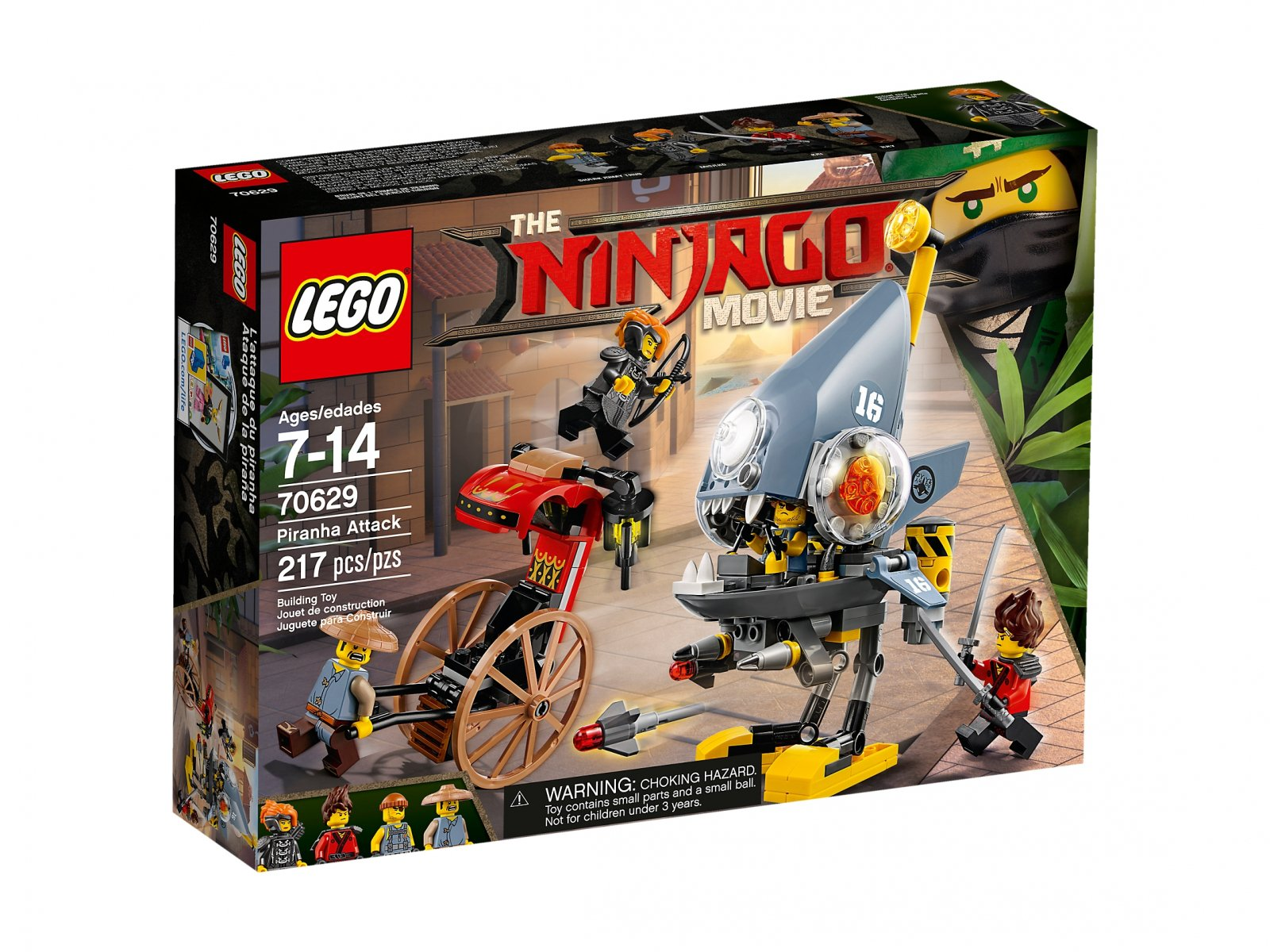 LEGO 70629 Ninjago® Movie™ Atak Piranii
