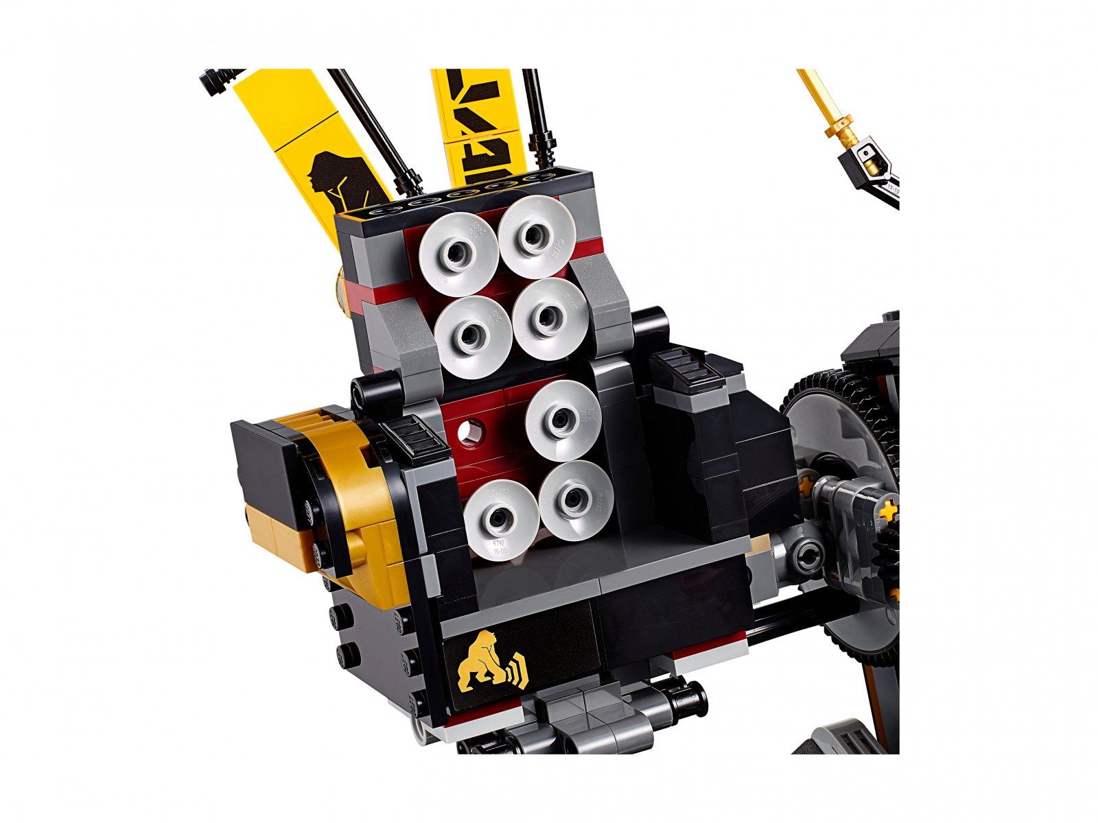 LEGO Ninjago® Movie™ Mech wstrząsu