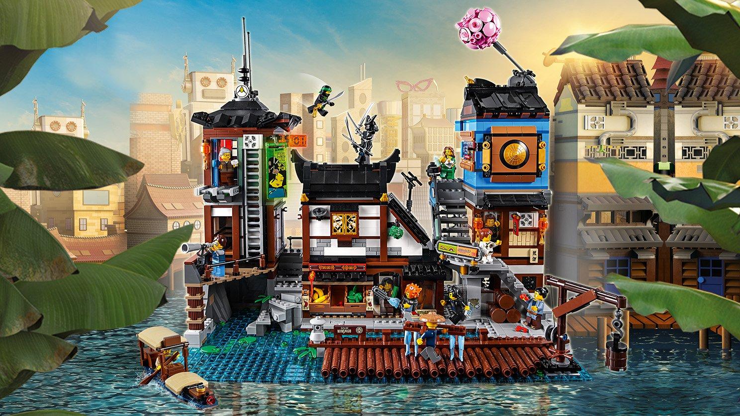 LEGO Ninjago® Movie™ Doki w Mieście NINJAGO®