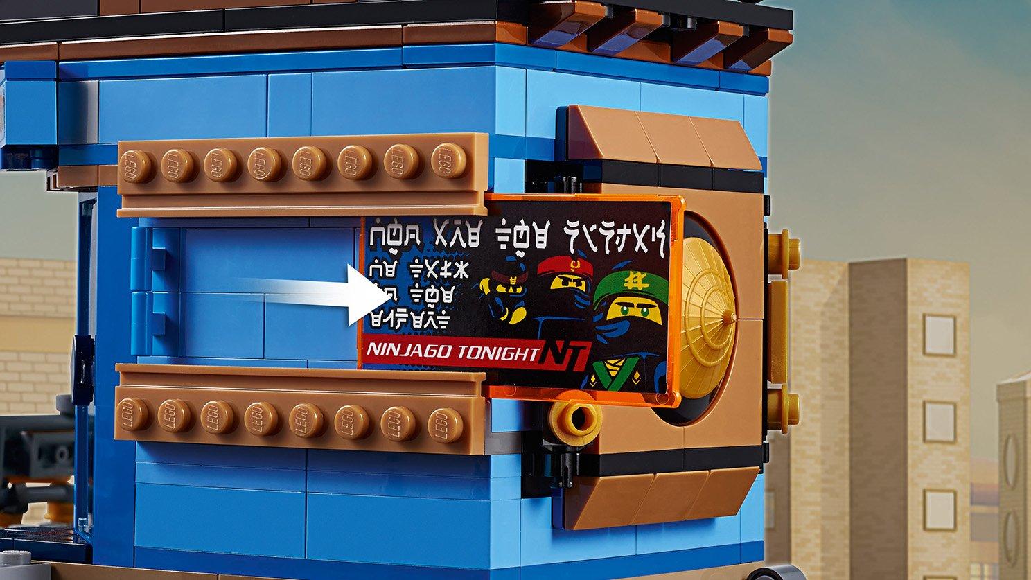 LEGO Ninjago® Movie™ Doki w Mieście NINJAGO® 70657