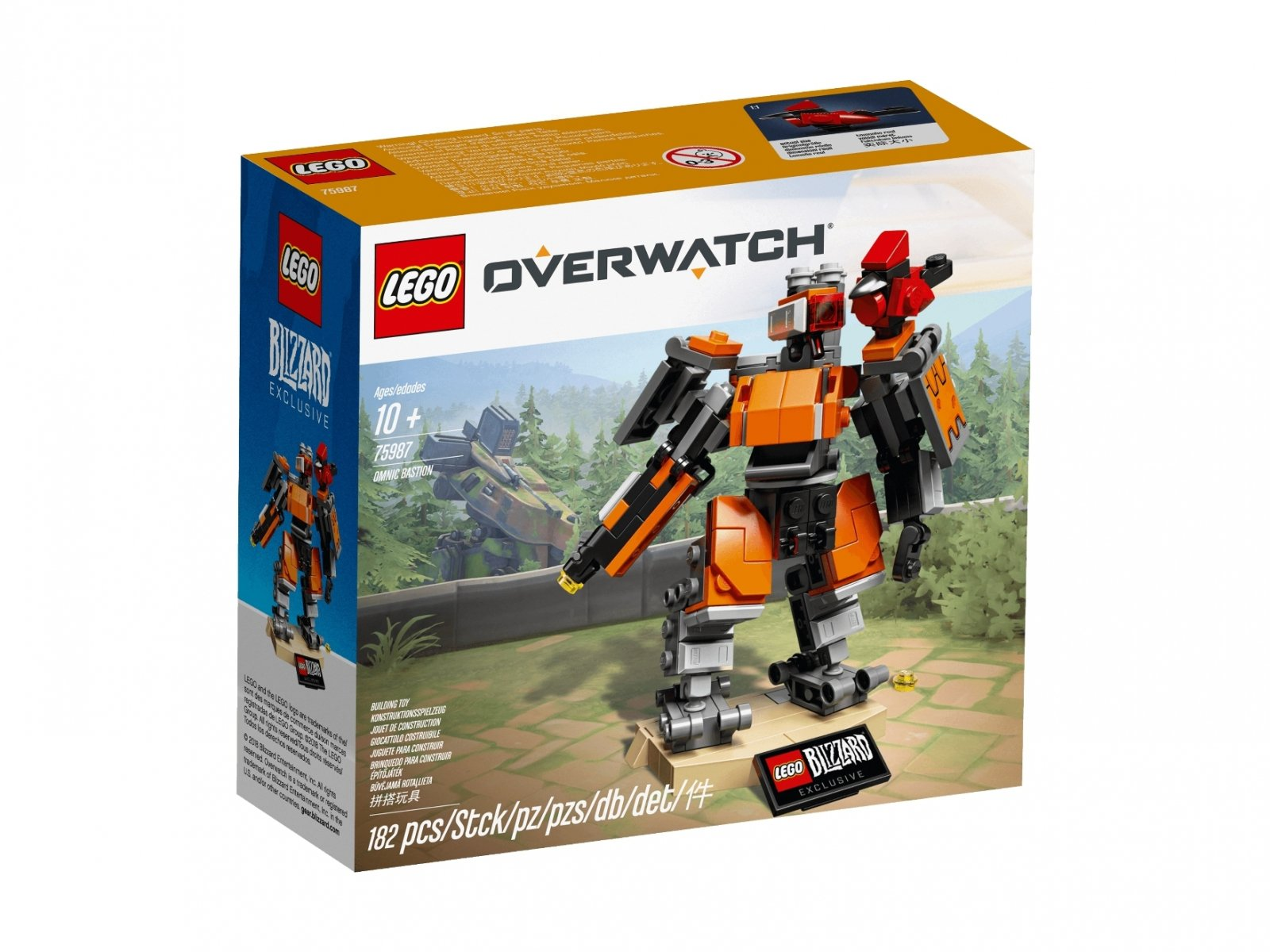 LEGO Overwatch® 75987 Omnic Bastion