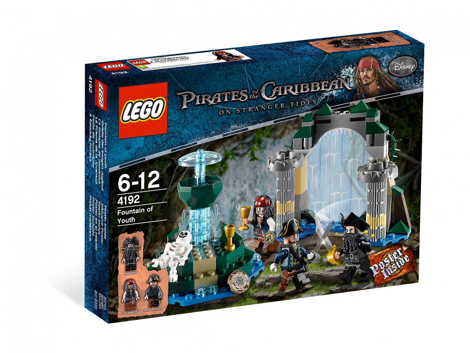LEGO Pirates of the Caribbean™ 4192 Fountain of Youth