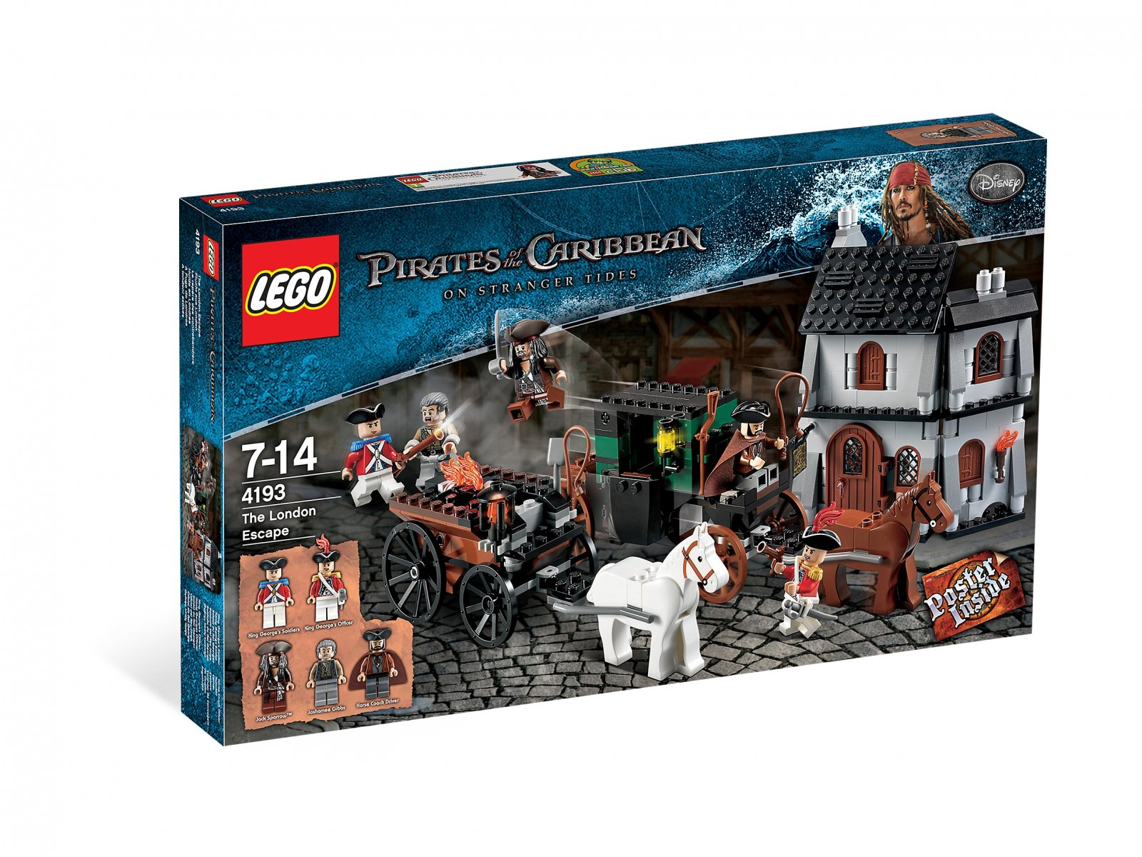 LEGO Pirates of the Caribbean™ 4193 The London Escape