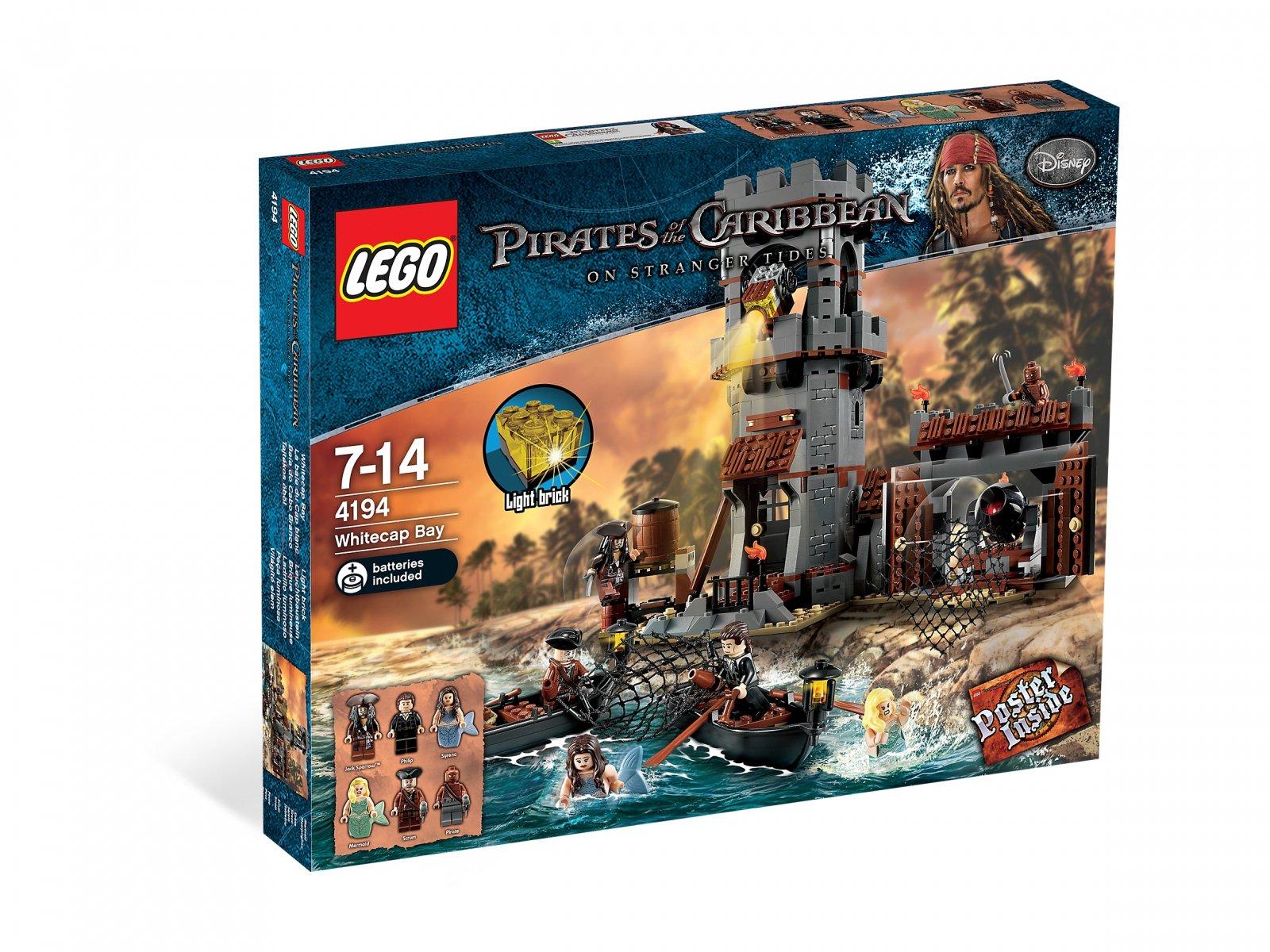 LEGO Pirates of the Caribbean™ Whitecap Bay 4194