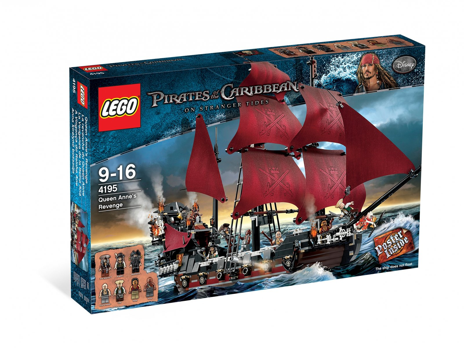 LEGO 4195 Pirates of the Caribbean™ Queen Anne's Revenge