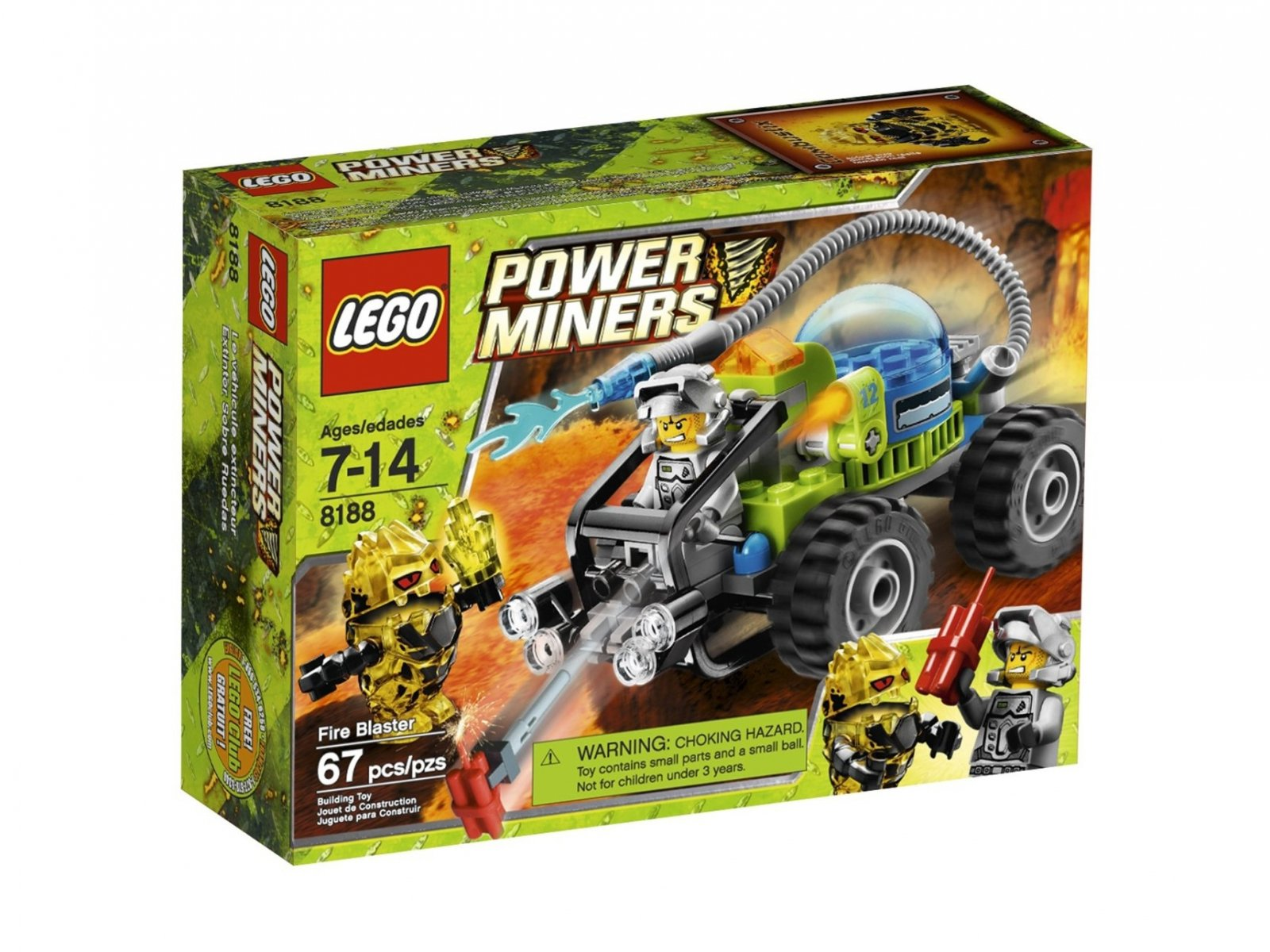 LEGO 8188 Pogromca Ognia