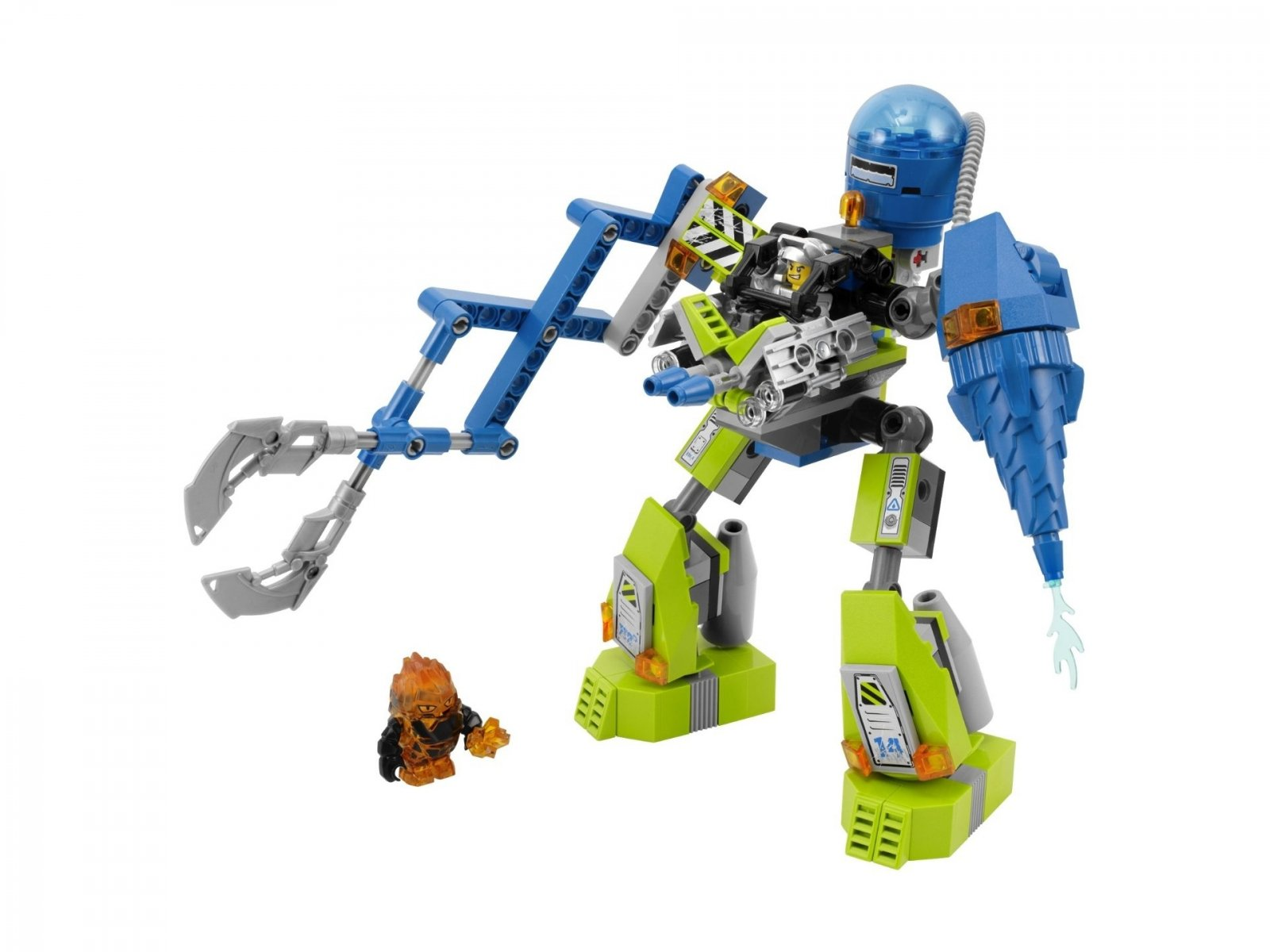 LEGO Power Miners Magmowy Robot 8189