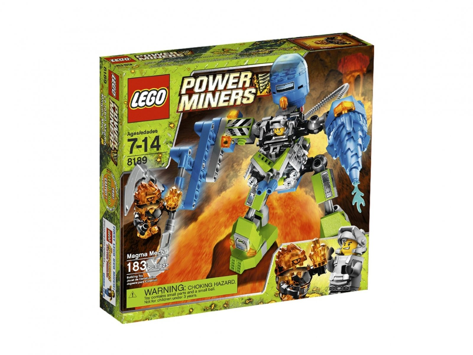 LEGO Power Miners 8189 Magmowy Robot