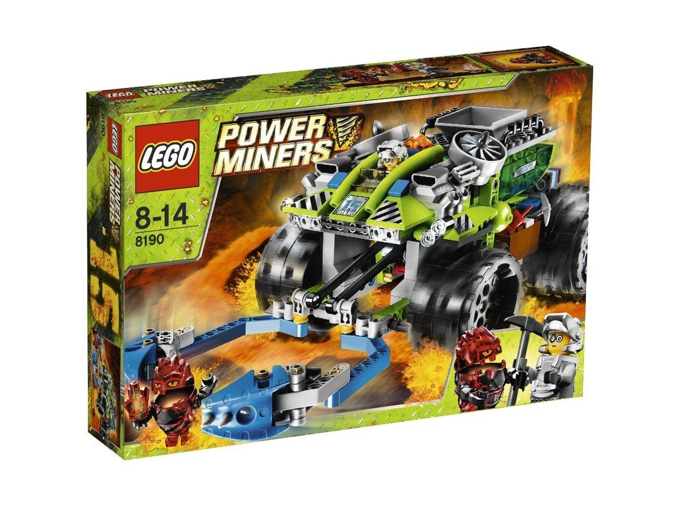 LEGO Power Miners 8190 Chwytacz