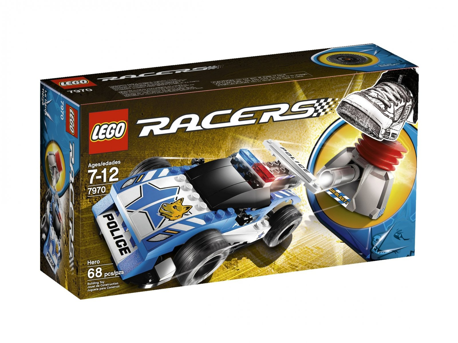 LEGO 7970 Bohater