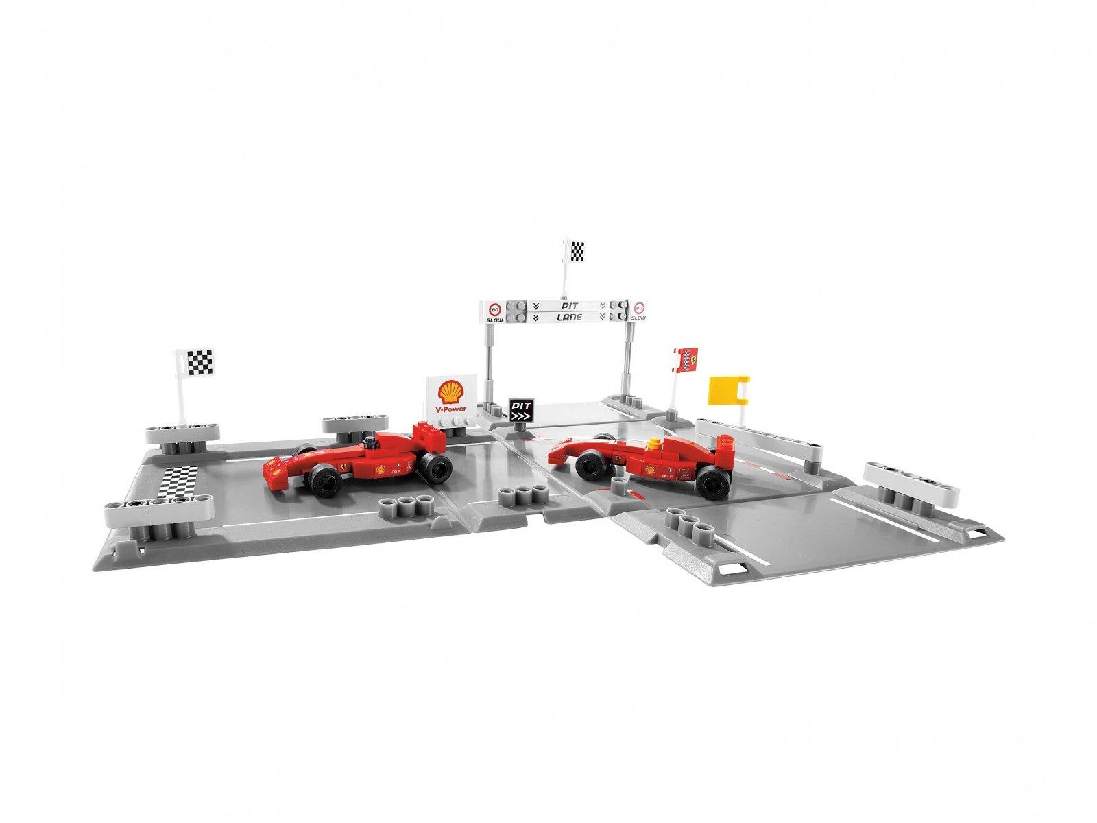 LEGO Racers 8123 Bolidy F1 Ferrari