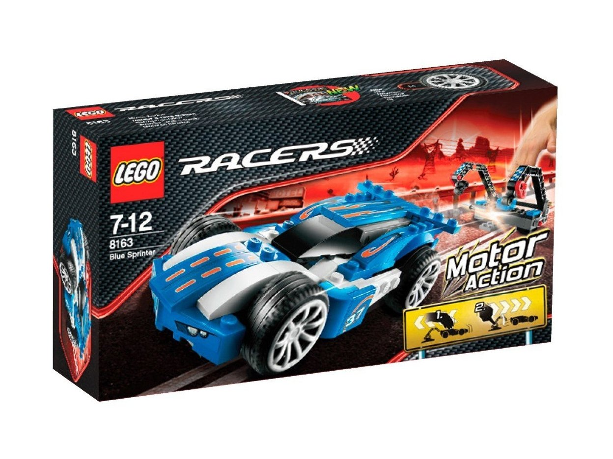 LEGO Racers Blue Sprinter 8163