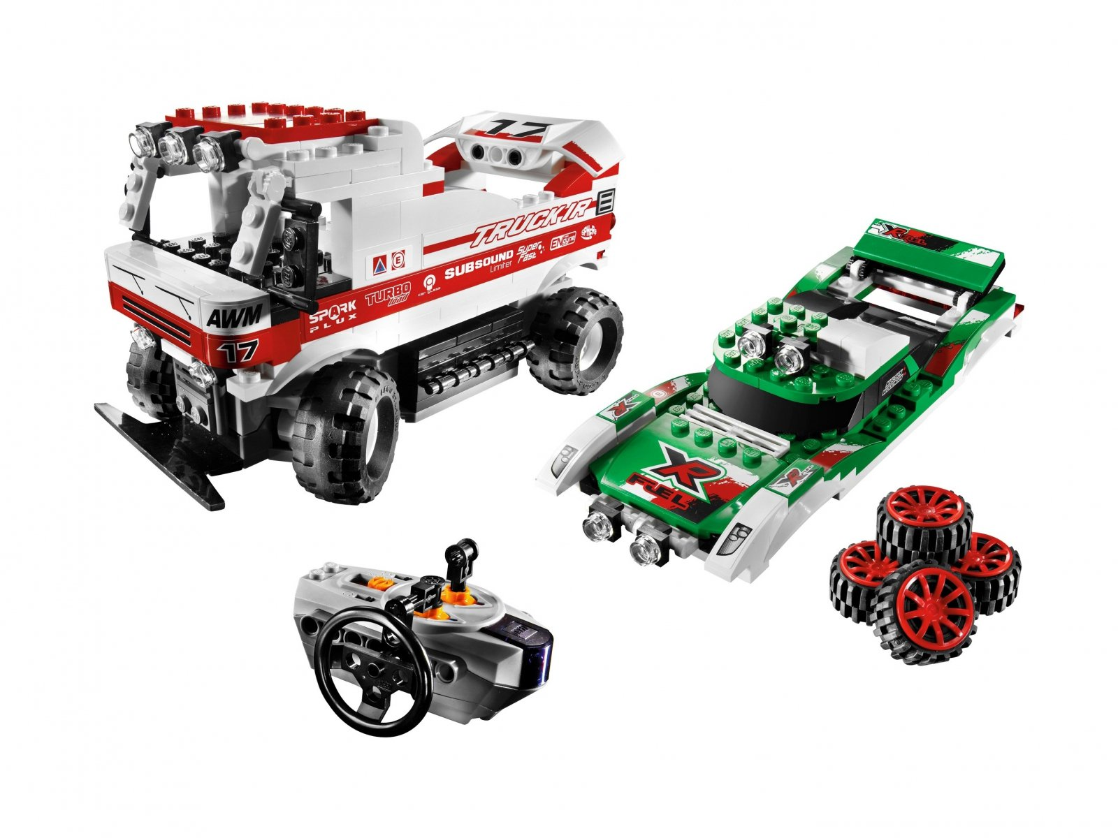LEGO Racers Twin X-treme RC 8184