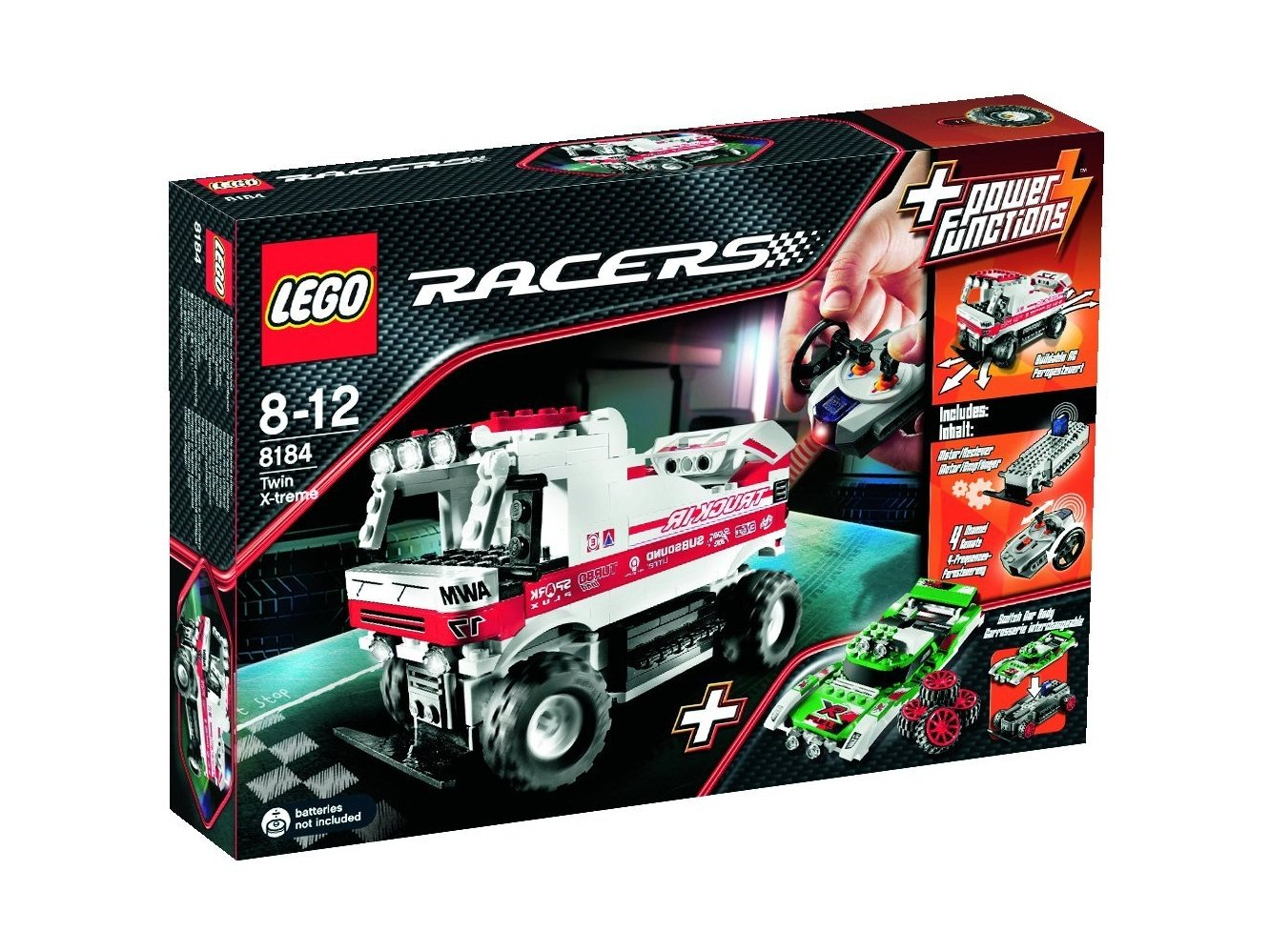 LEGO Racers 8184 Twin X-treme RC