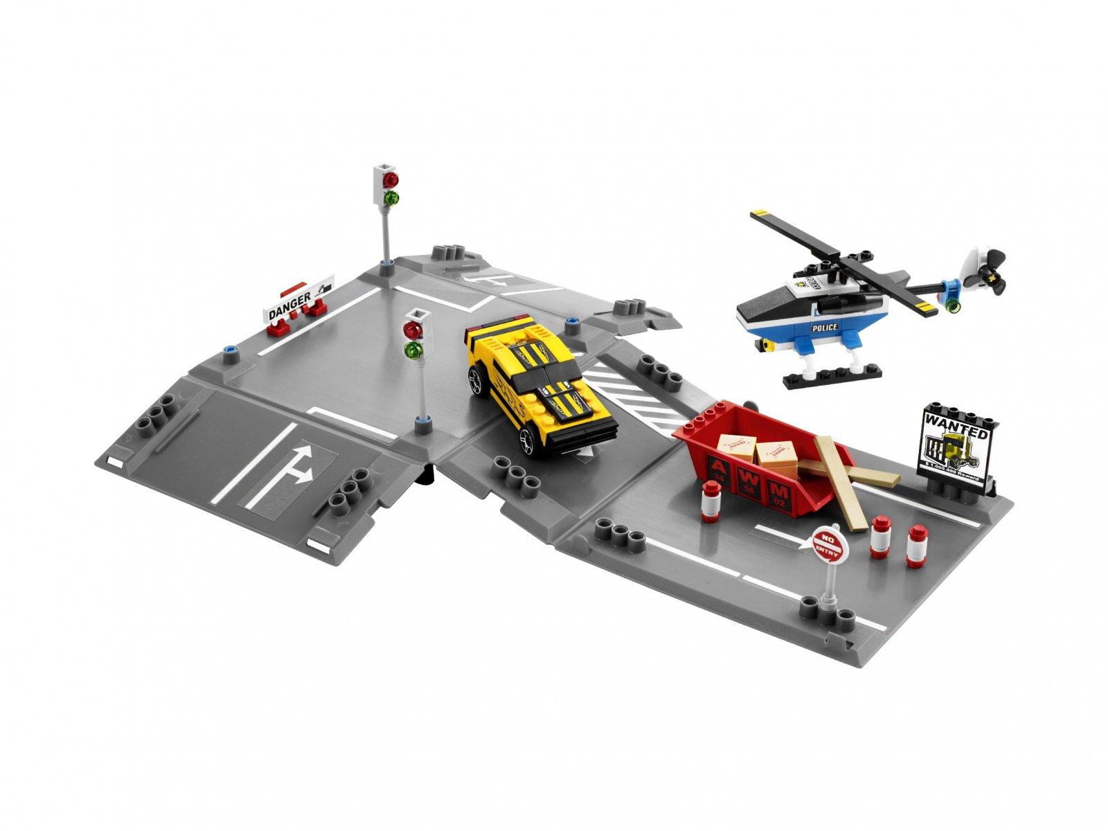 LEGO 8196 Racers Ucieczka przed helikopterem