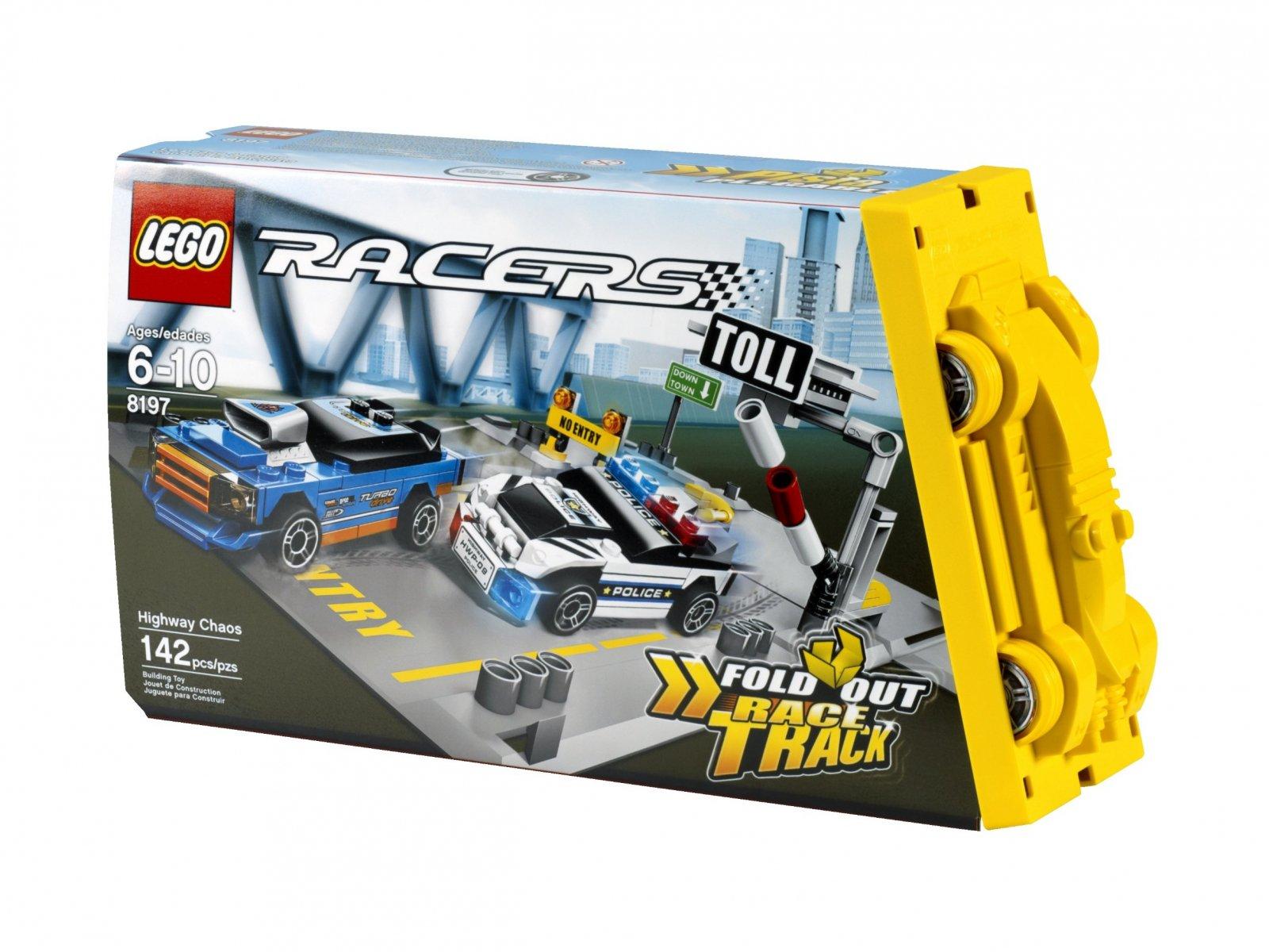 LEGO 8197 Chaos na autostradzie