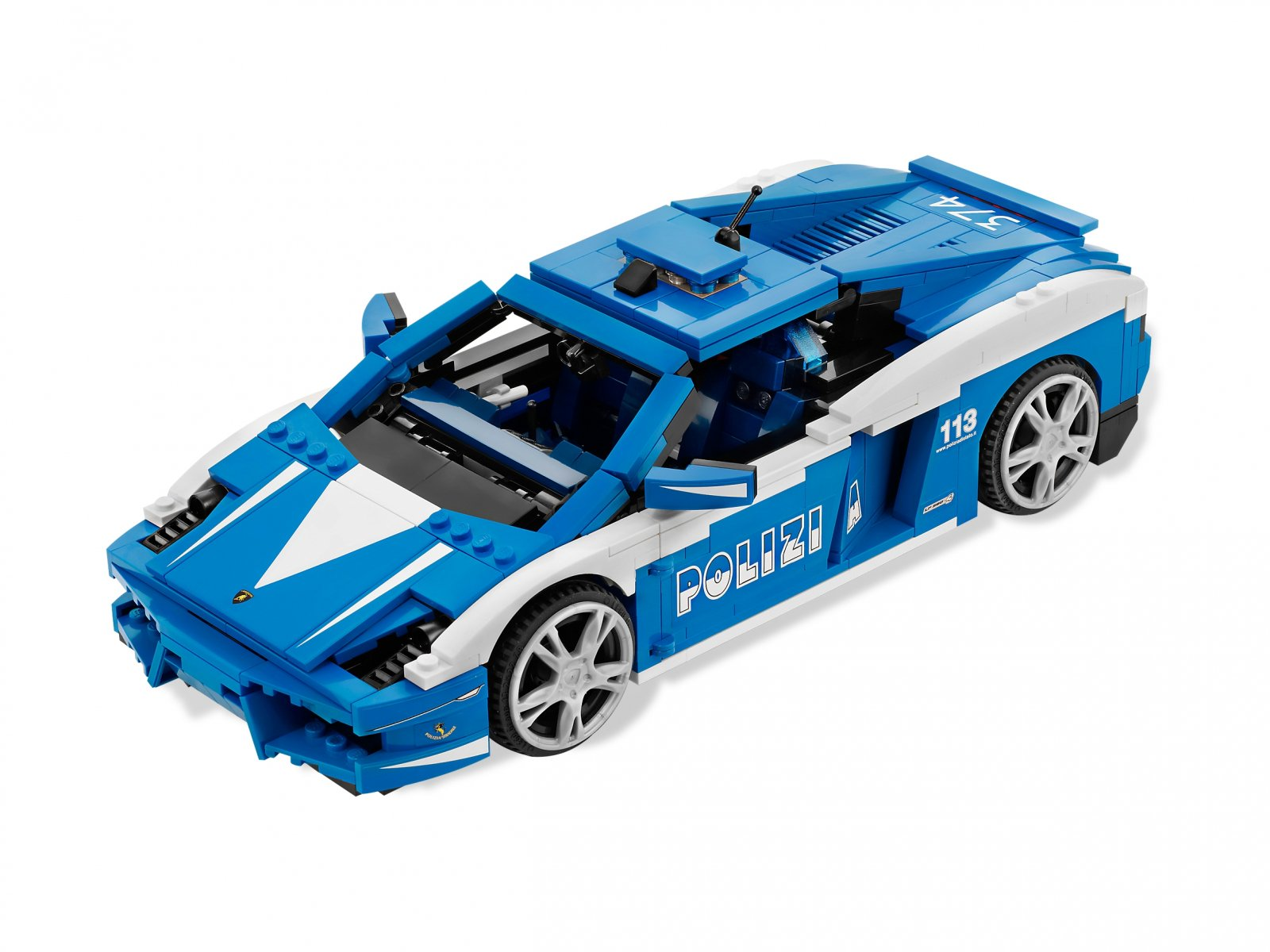 LEGO 8214 Racers Gallardo LP 560-4 Polizia