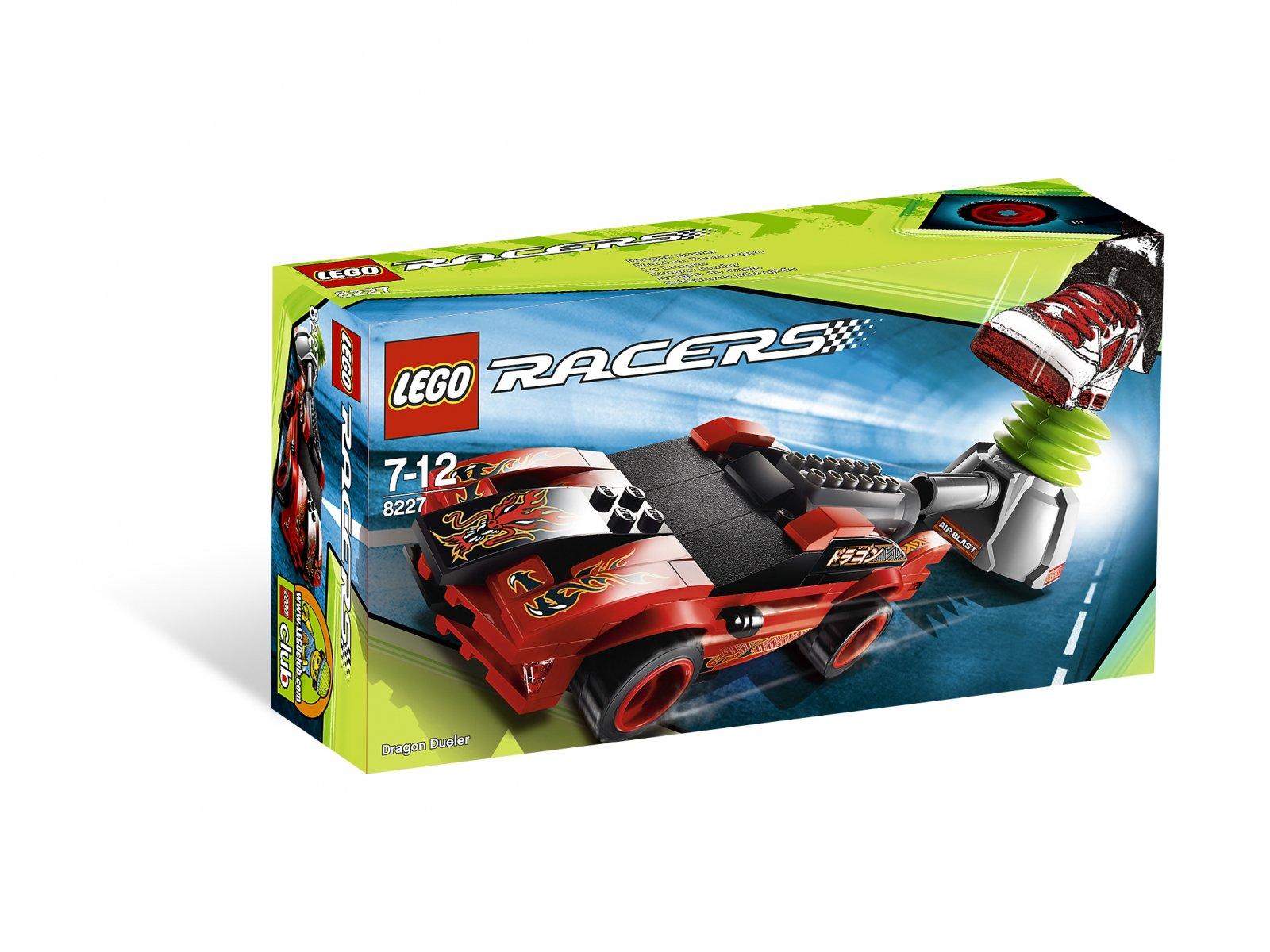LEGO Racers Smoczy Wojownik 8227