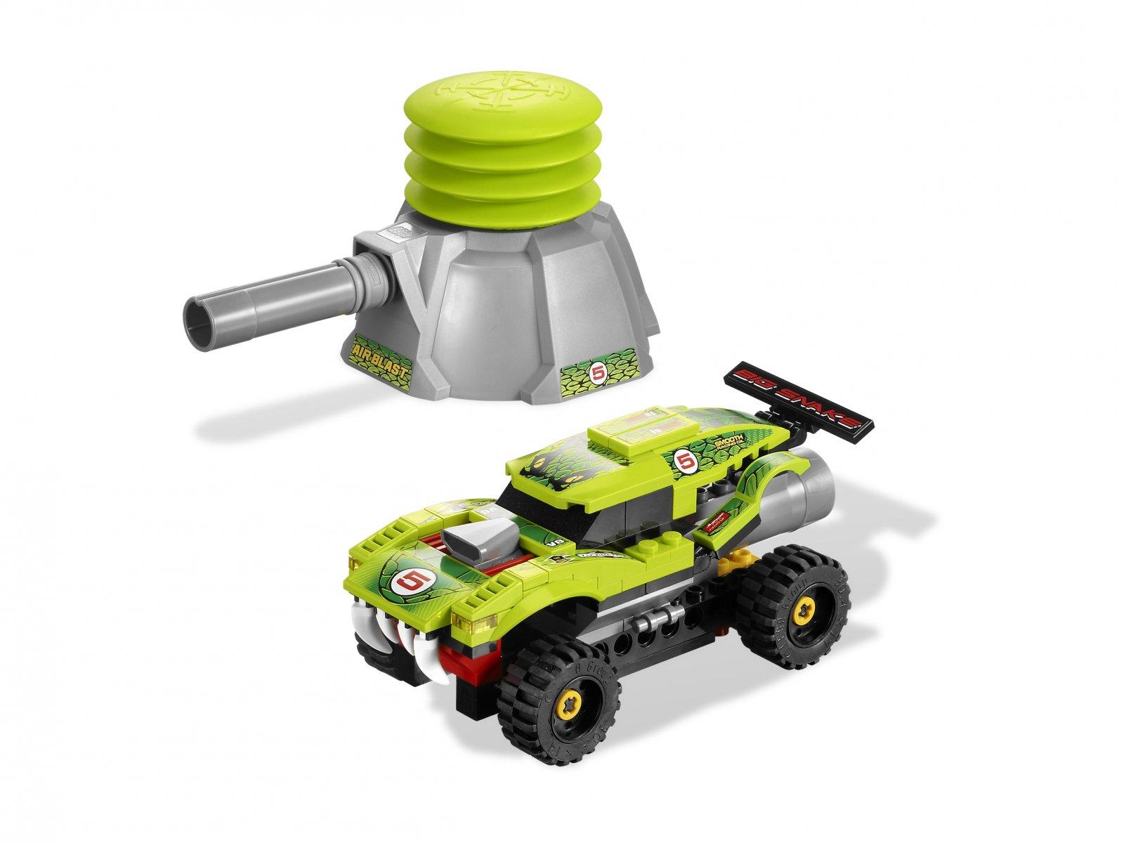 LEGO 8231 Racers Groźna Żmija
