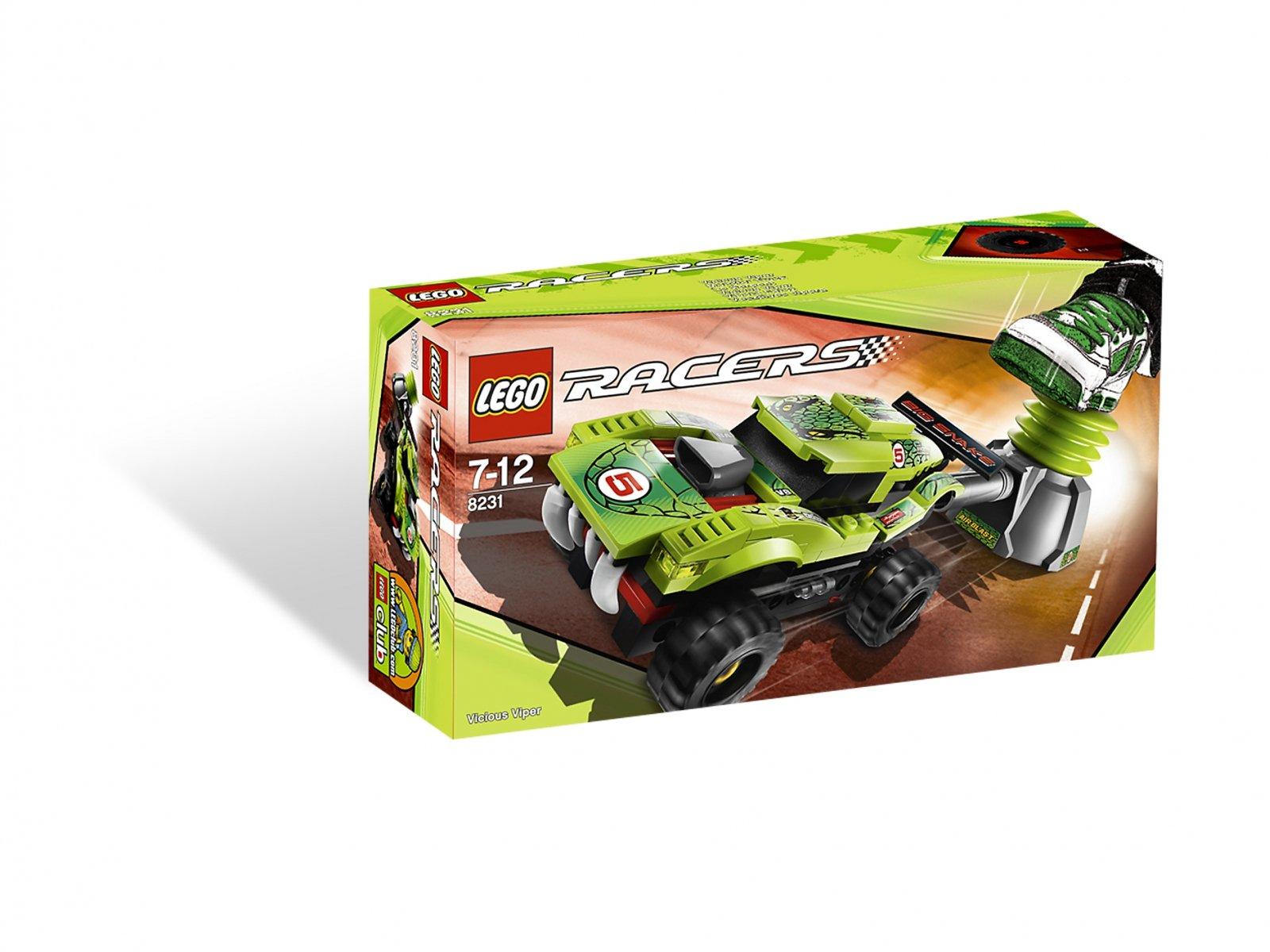 LEGO Racers 8231 Groźna Żmija