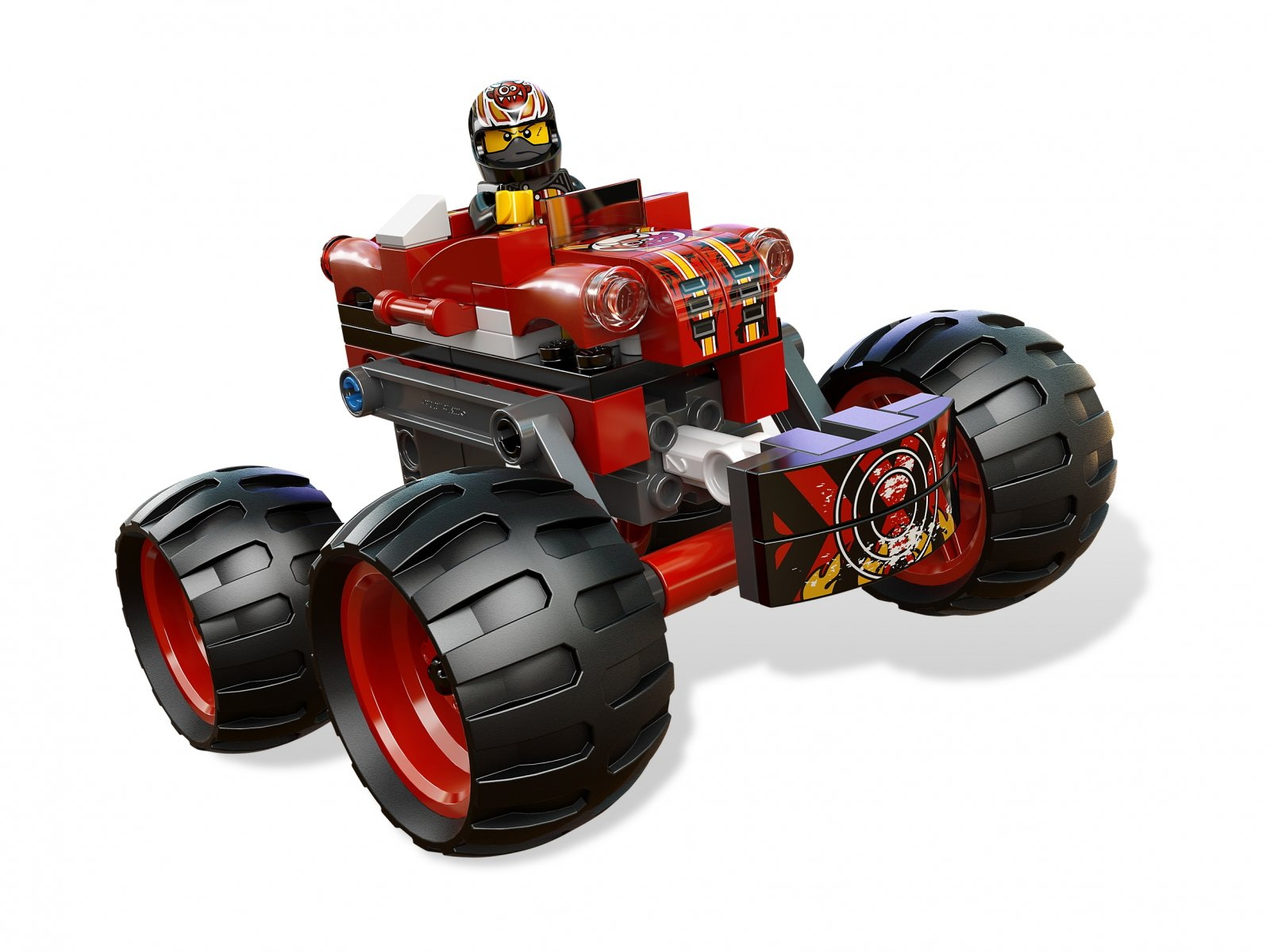 LEGO Racers 9092 Szalony Demon