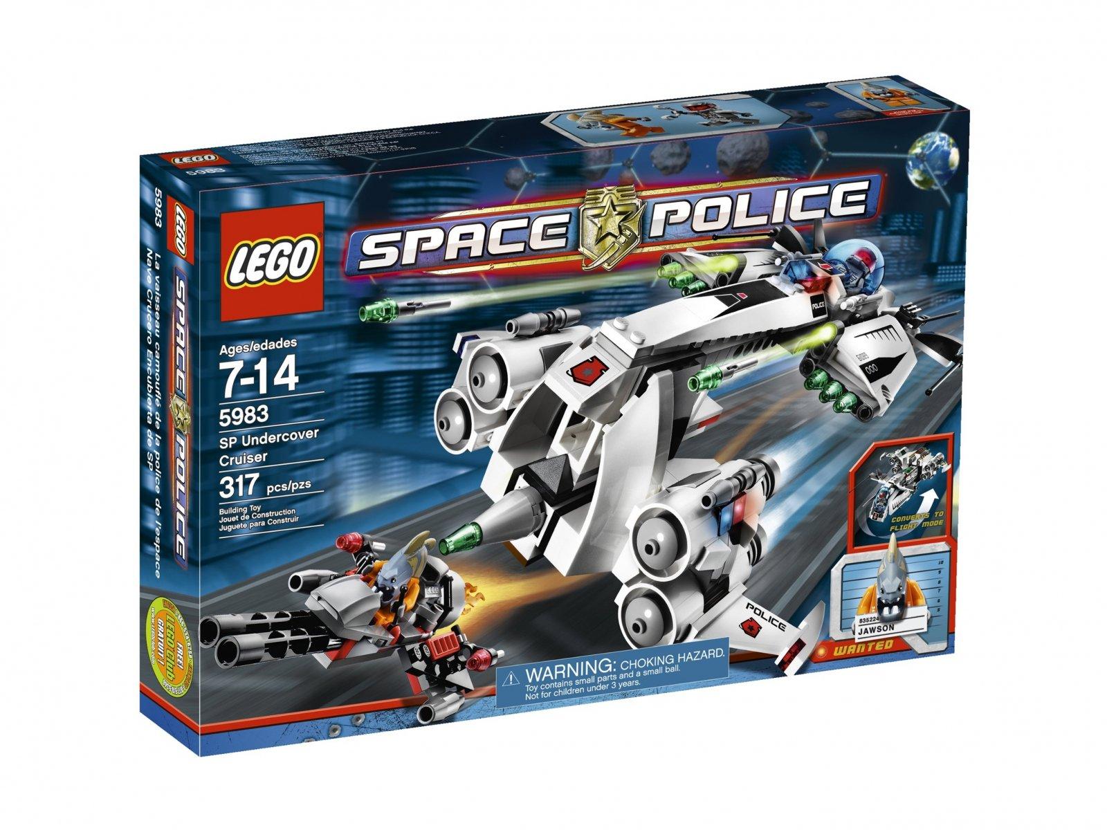LEGO Space Police Undercover Cruiser 5983