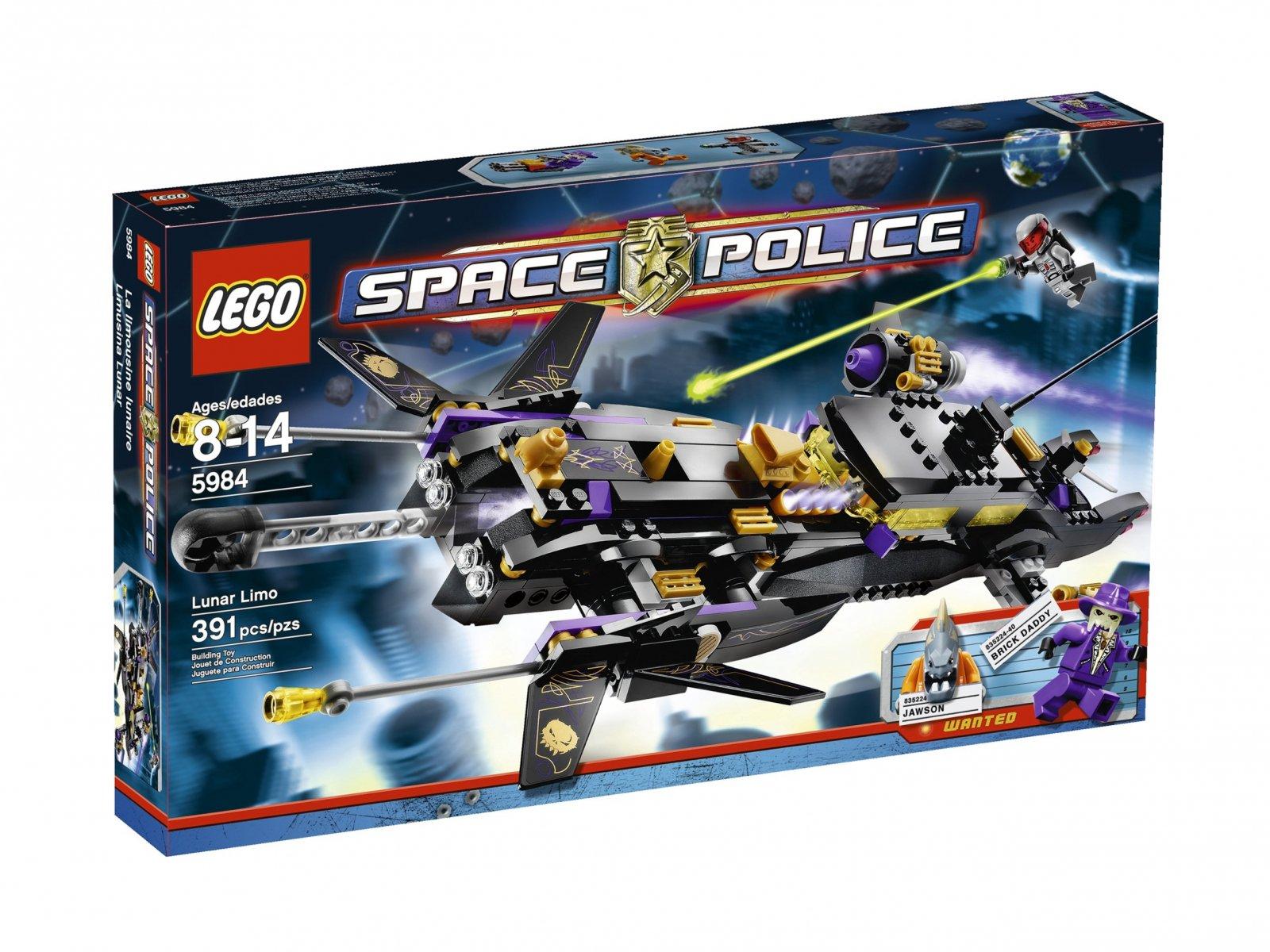 LEGO 5984 Space Police Lunar Limo