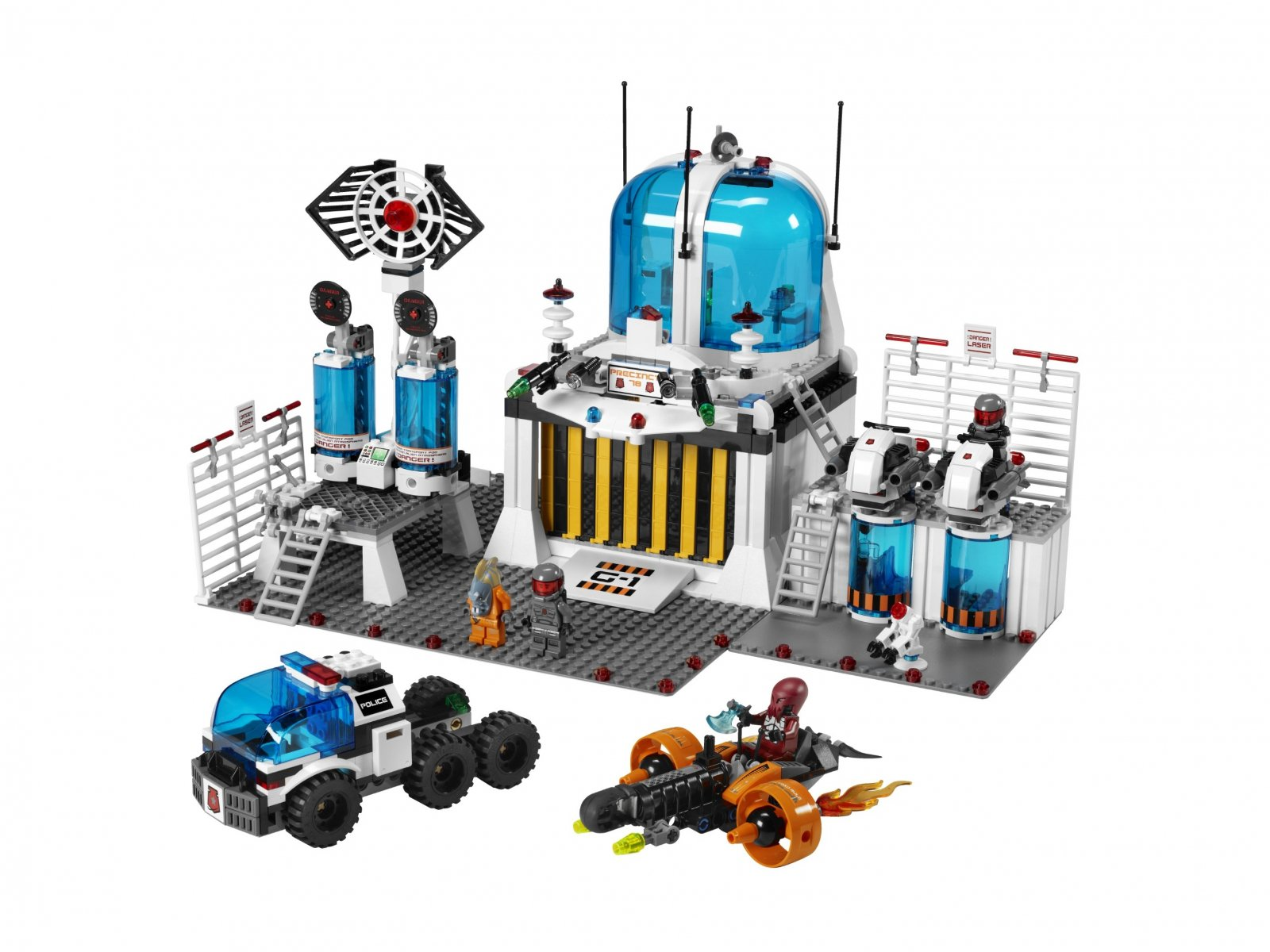 LEGO Space Police 5985 Space Police Central