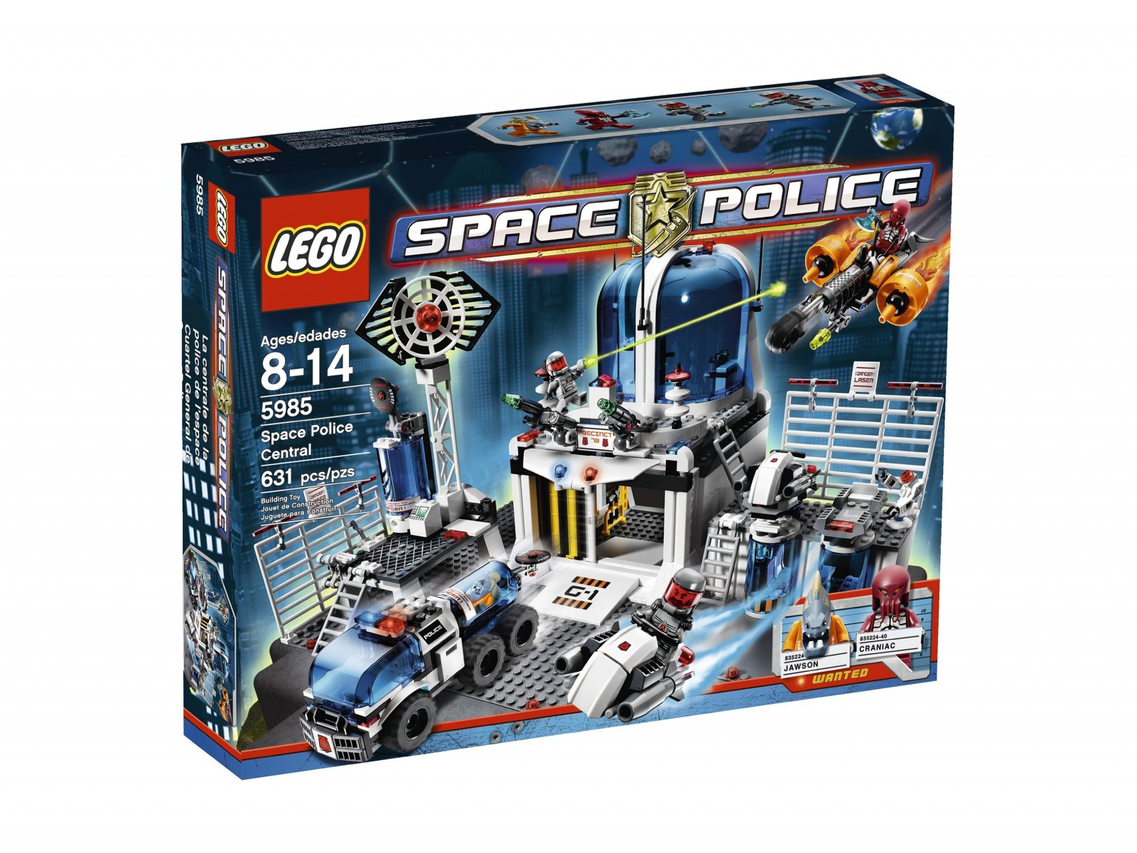 LEGO Space Police Space Police Central 5985
