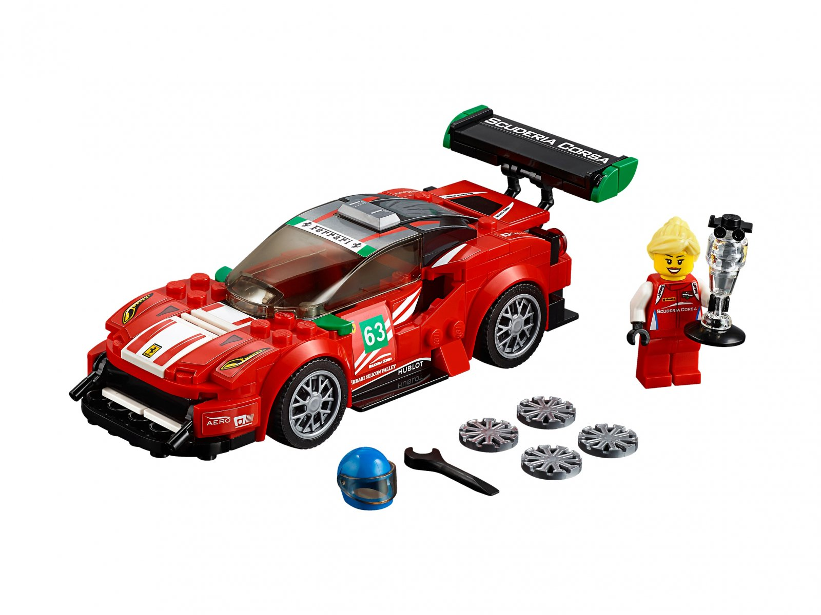 "LEGO 75886 Ferrari 488 GT3 ""Scuderia Corsa"""