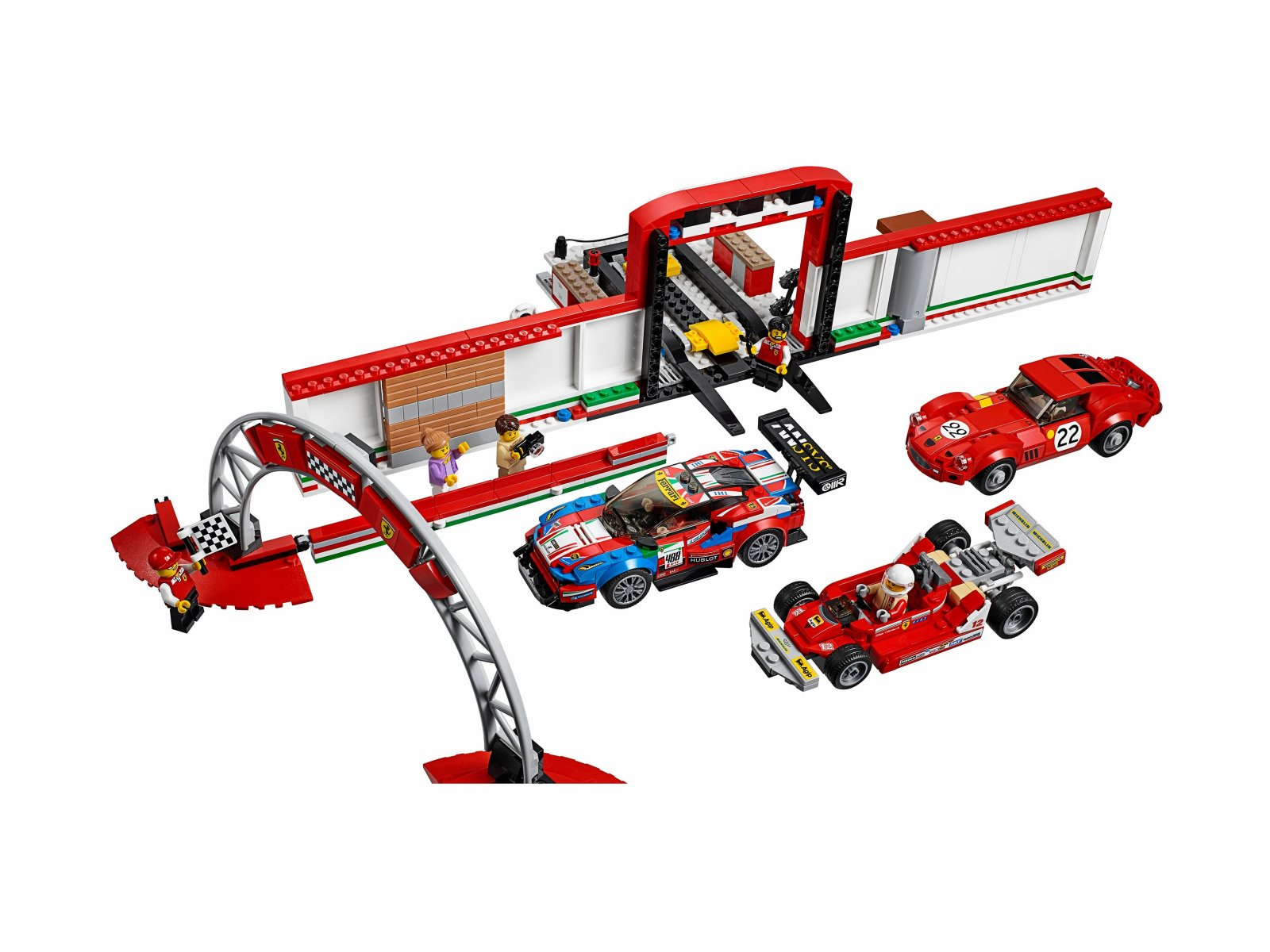 75889 lego speed champions rewelacyjny warsztat ferrari. Black Bedroom Furniture Sets. Home Design Ideas