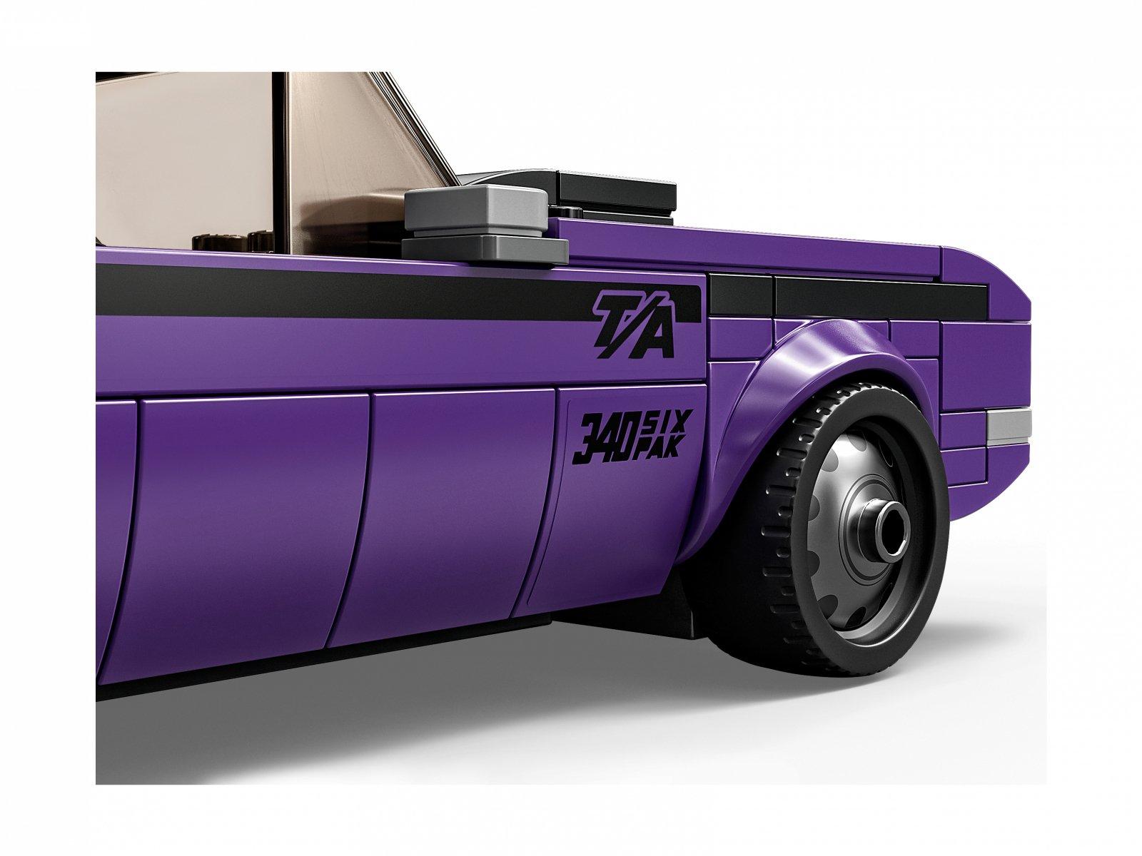 LEGO Speed Champions Mopar Dodge//SRT Top Fuel Dragster i 1970 Dodge Challenger T/A 76904