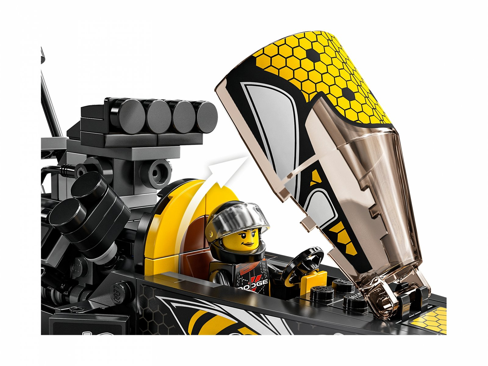 LEGO Speed Champions 76904 Mopar Dodge//SRT Top Fuel Dragster i 1970 Dodge Challenger T/A