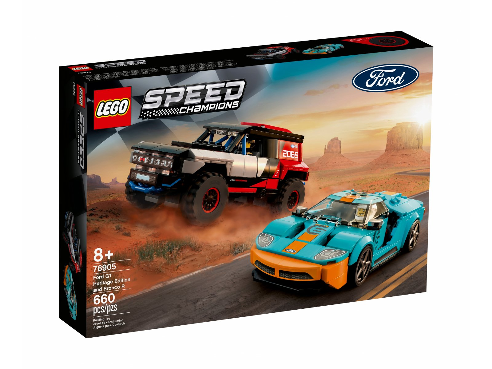 LEGO 76905 Ford GT Heritage Edition i Bronco R