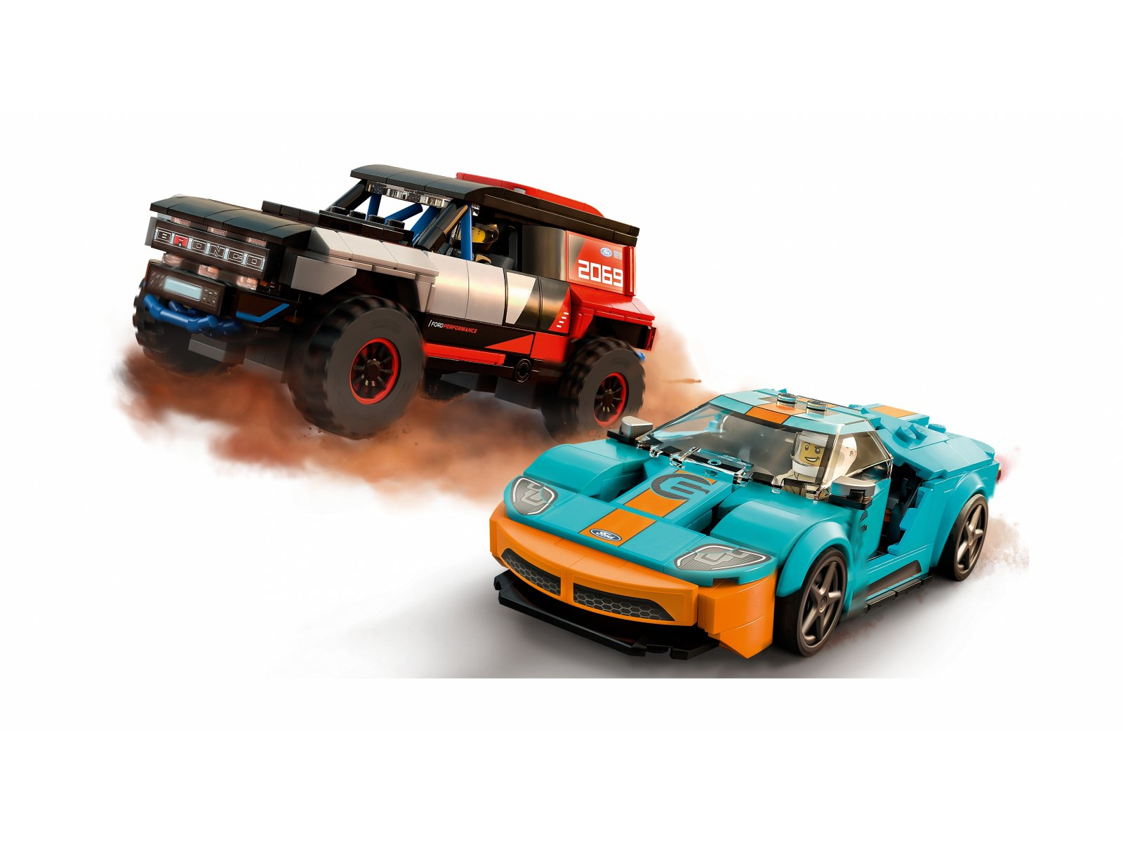 LEGO Speed Champions 76905 Ford GT Heritage Edition i Bronco R
