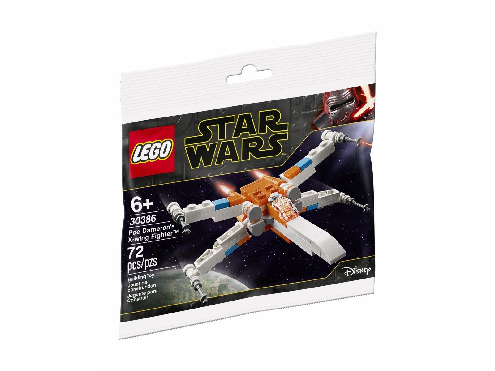 LEGO Star Wars™ 30386 Myśliwiec X-Wing Poe'a Damerona™