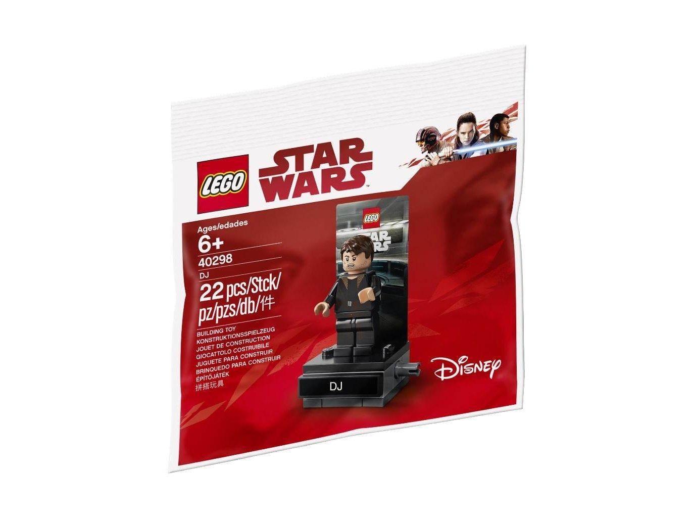 Lego 40298 Minifigurka DJ-a