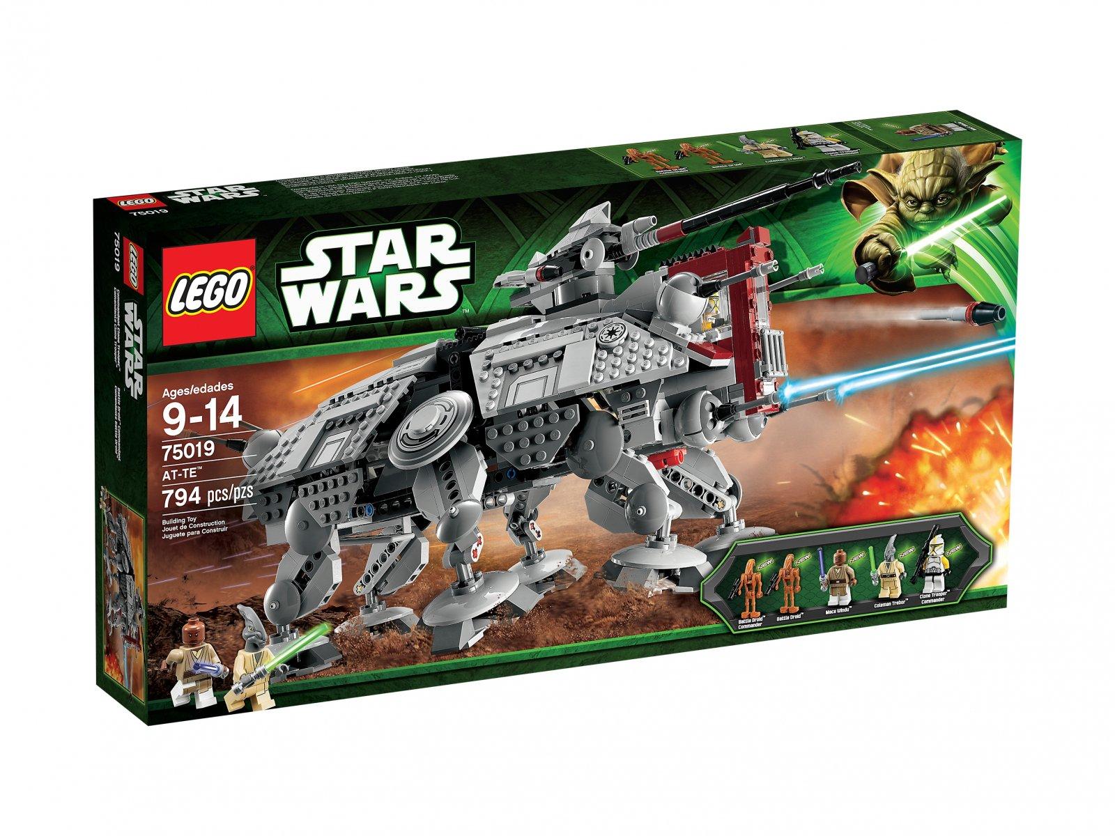Lego 75019 Star Wars At Te Porównaj Ceny Zklockówpl