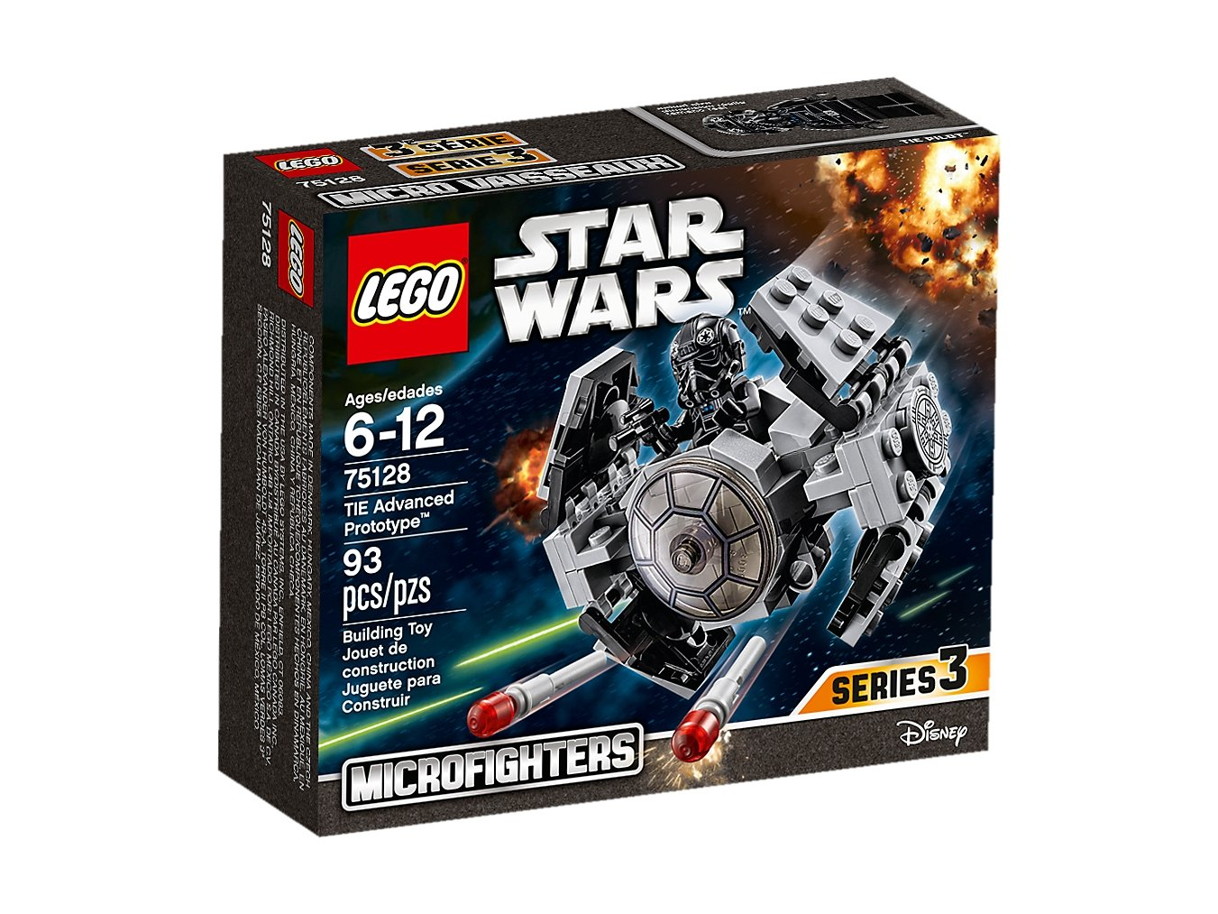LEGO Star Wars™ TIE Advanced Prototype™ 75128