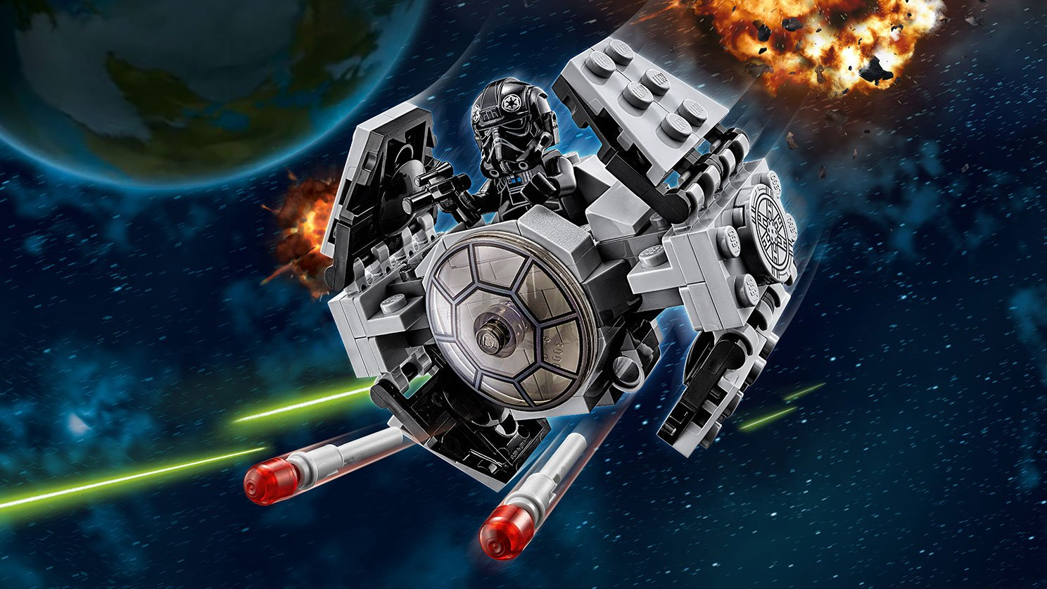LEGO 75128 TIE Advanced Prototype™