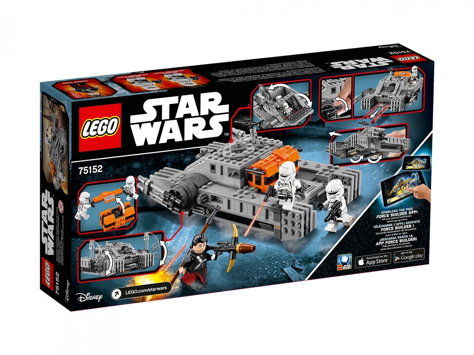 Lego 75152 Star Wars Szturmowy Czołg Poduszkowy Imperium