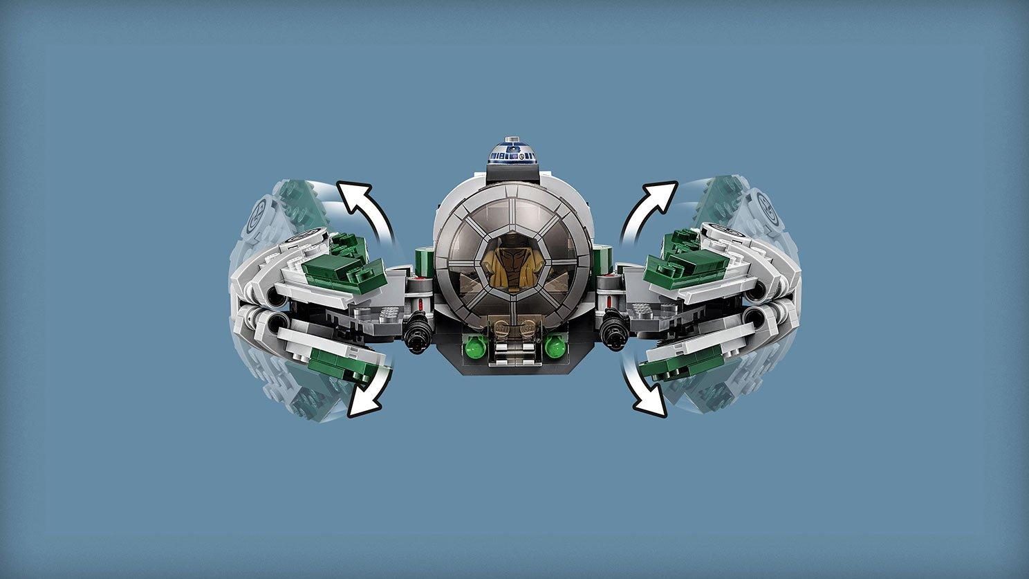 LEGO 75168 Star Wars™ Jedi Starfighter Yody™