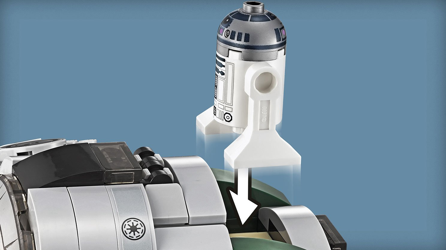 LEGO Star Wars™ 75168 Jedi Starfighter Yody™