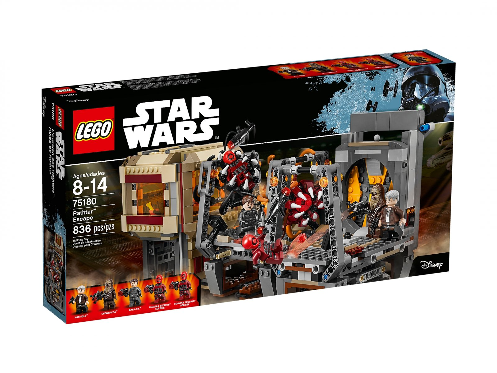 Lego 75180 Star Wars Ucieczka Rathtara Zklockówpl